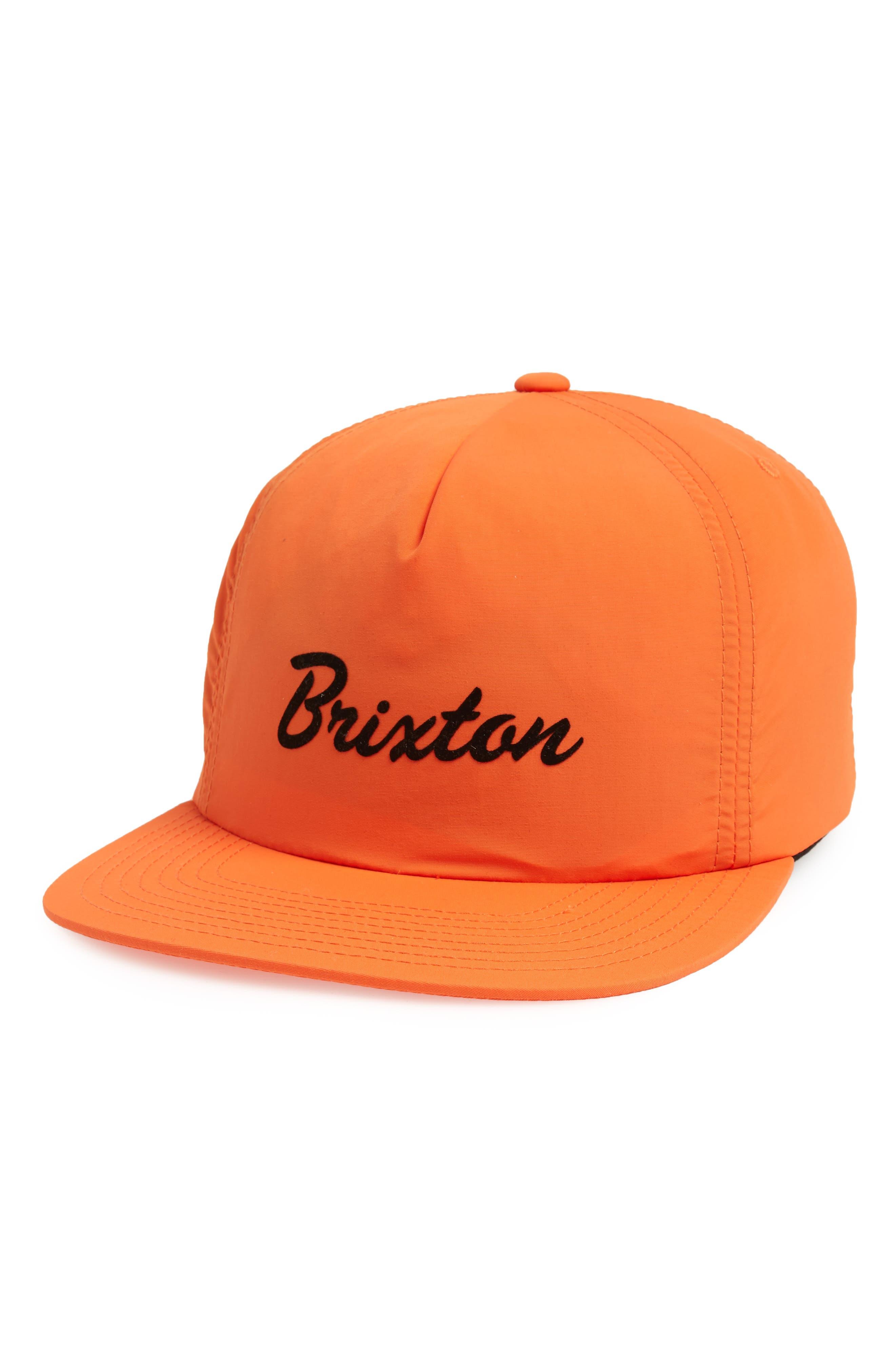 Blaine Ball Cap,                         Main,                         color, Orange