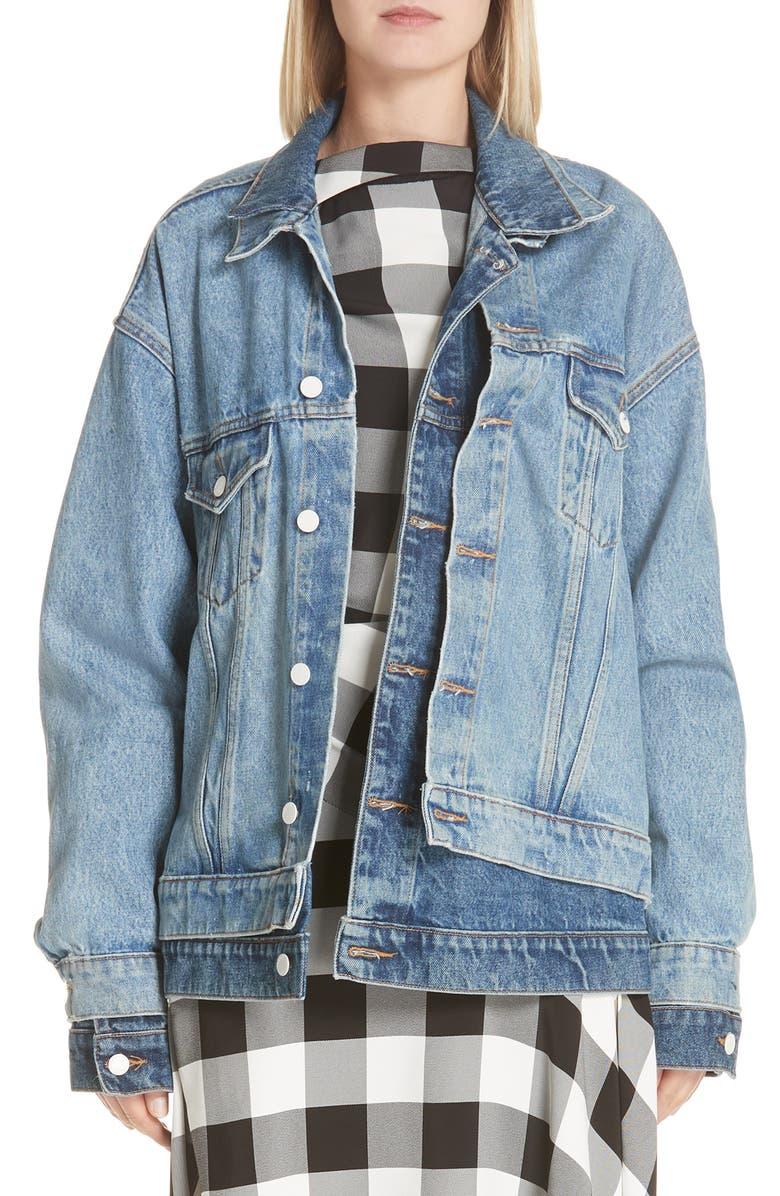 Double Layered Denim Jacket