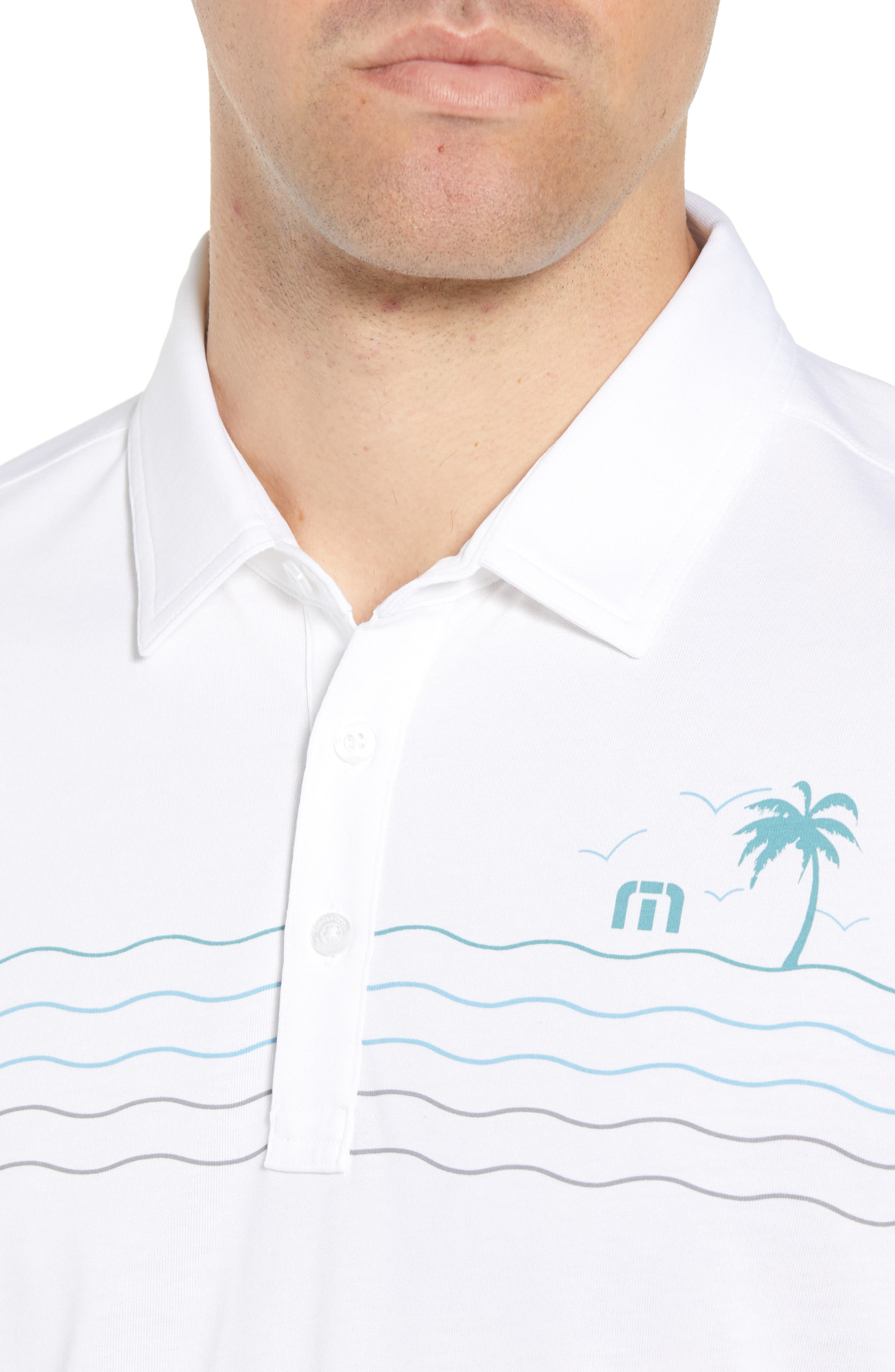 Not 4 Everyone Regular Fit Polo,                             Alternate thumbnail 4, color,                             White