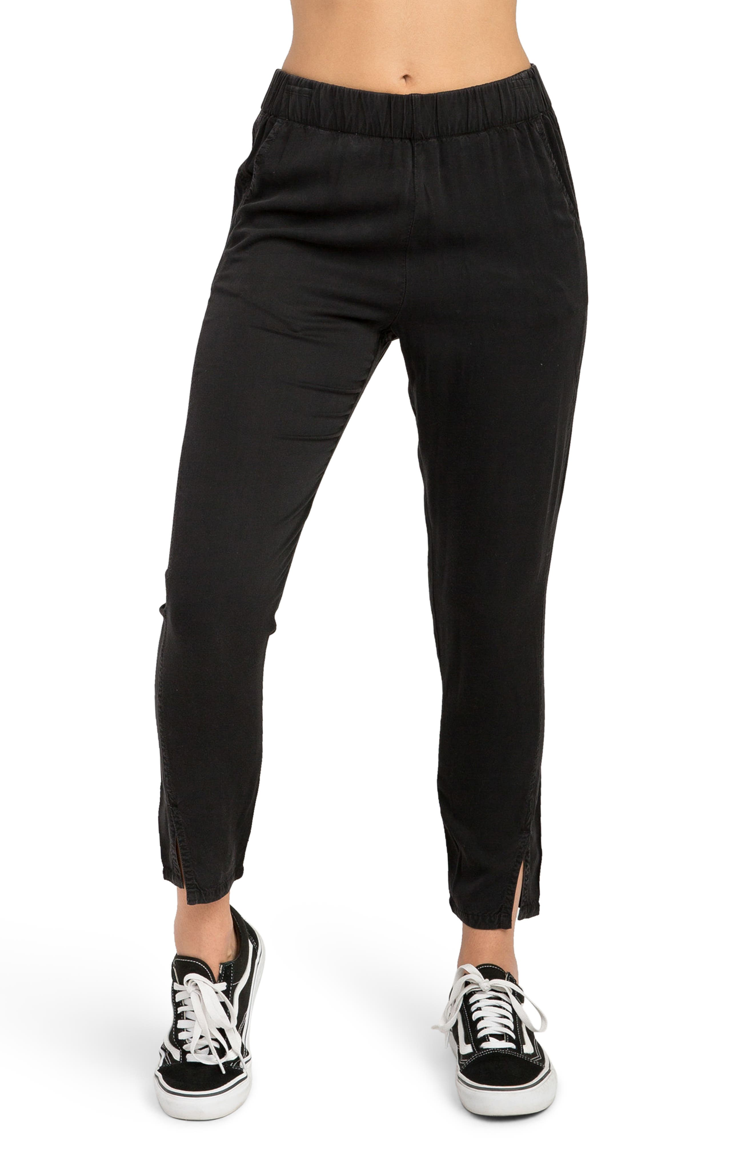 Chill Vibes Ankle Pants,                         Main,                         color, Black