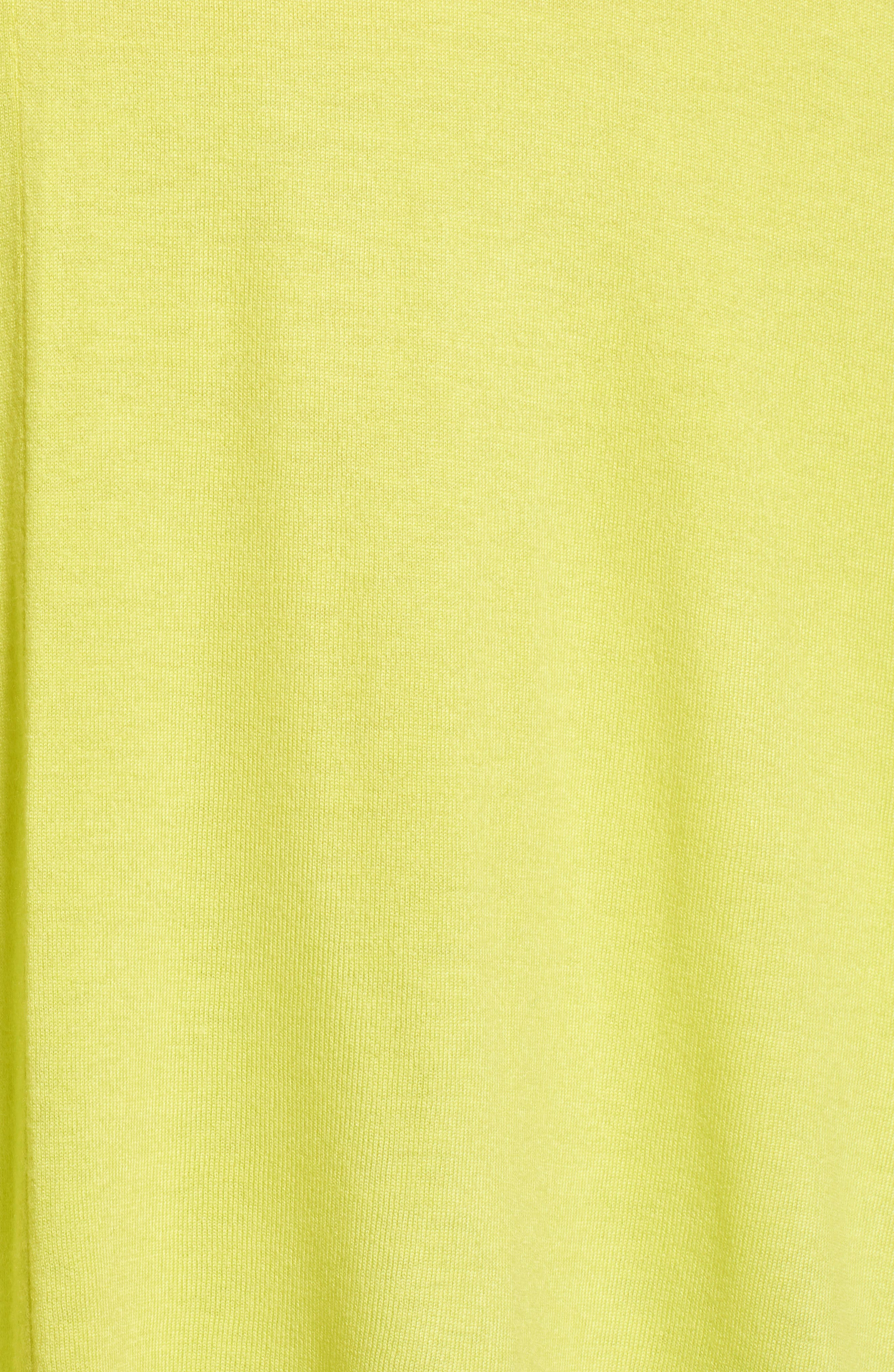 Core Everyday Ruana,                             Alternate thumbnail 5, color,                             Sunny Lime