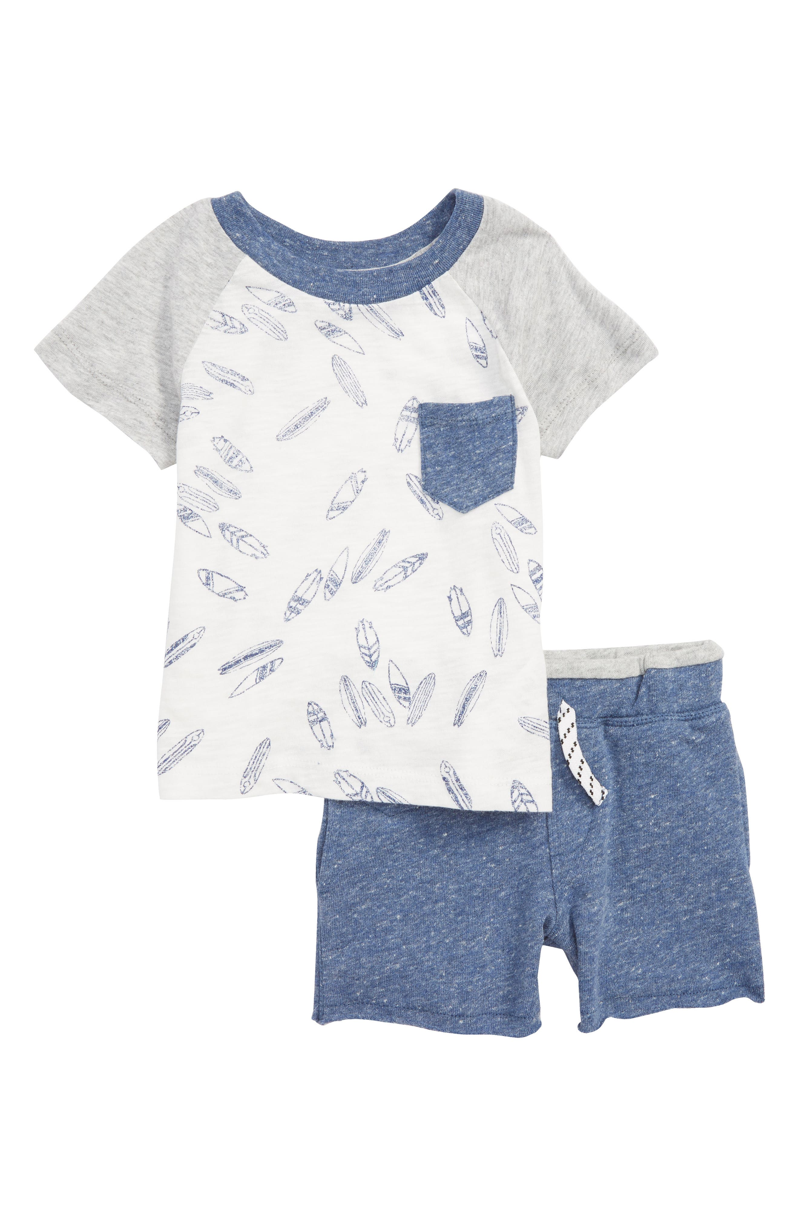 Splendid Surfboard T-Shirt & Shorts Set (Baby Boys)