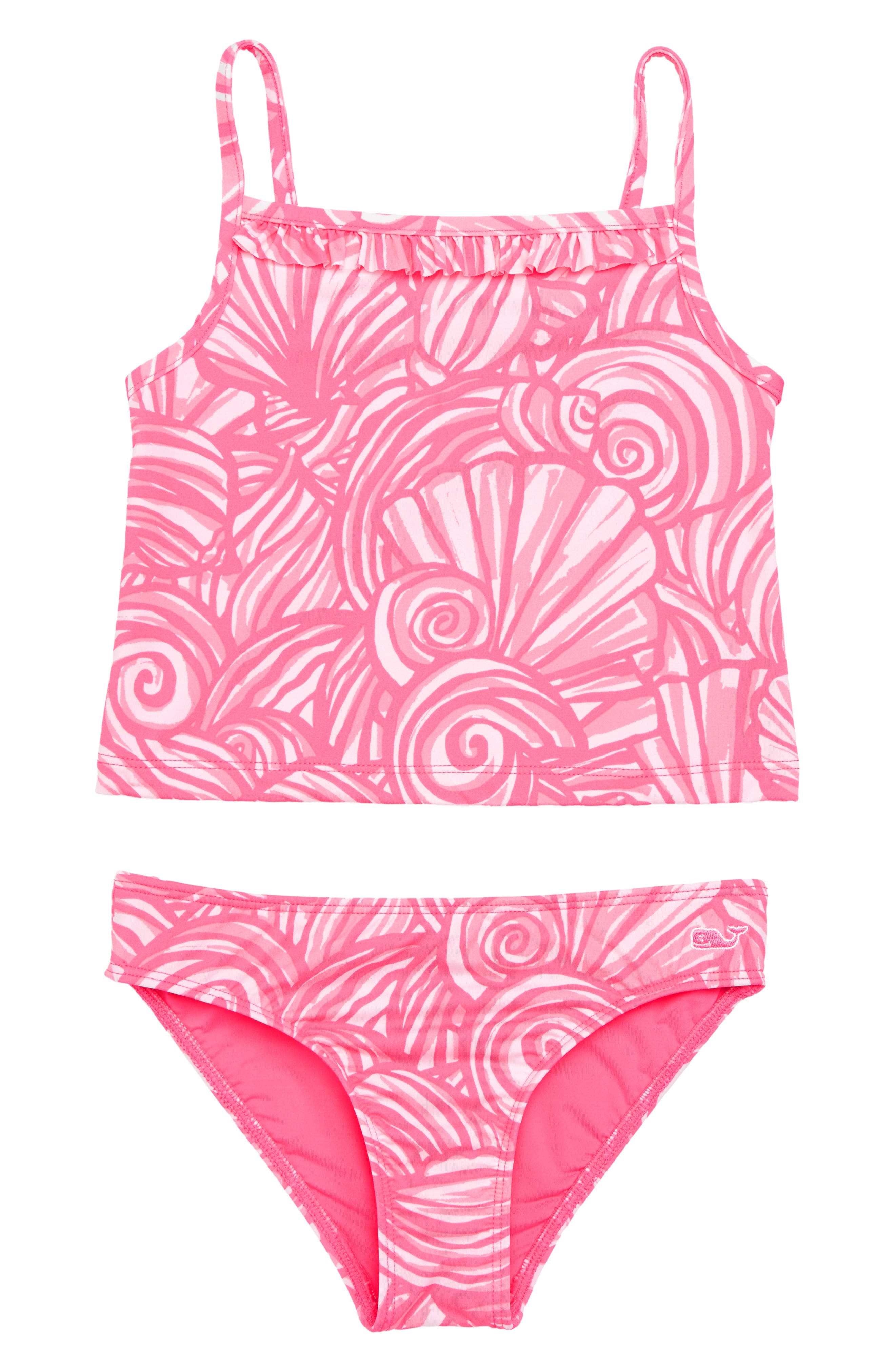 vineyard vines Shell Two-Piece Tankini Swimsuit (Little Girls & Big Girls)
