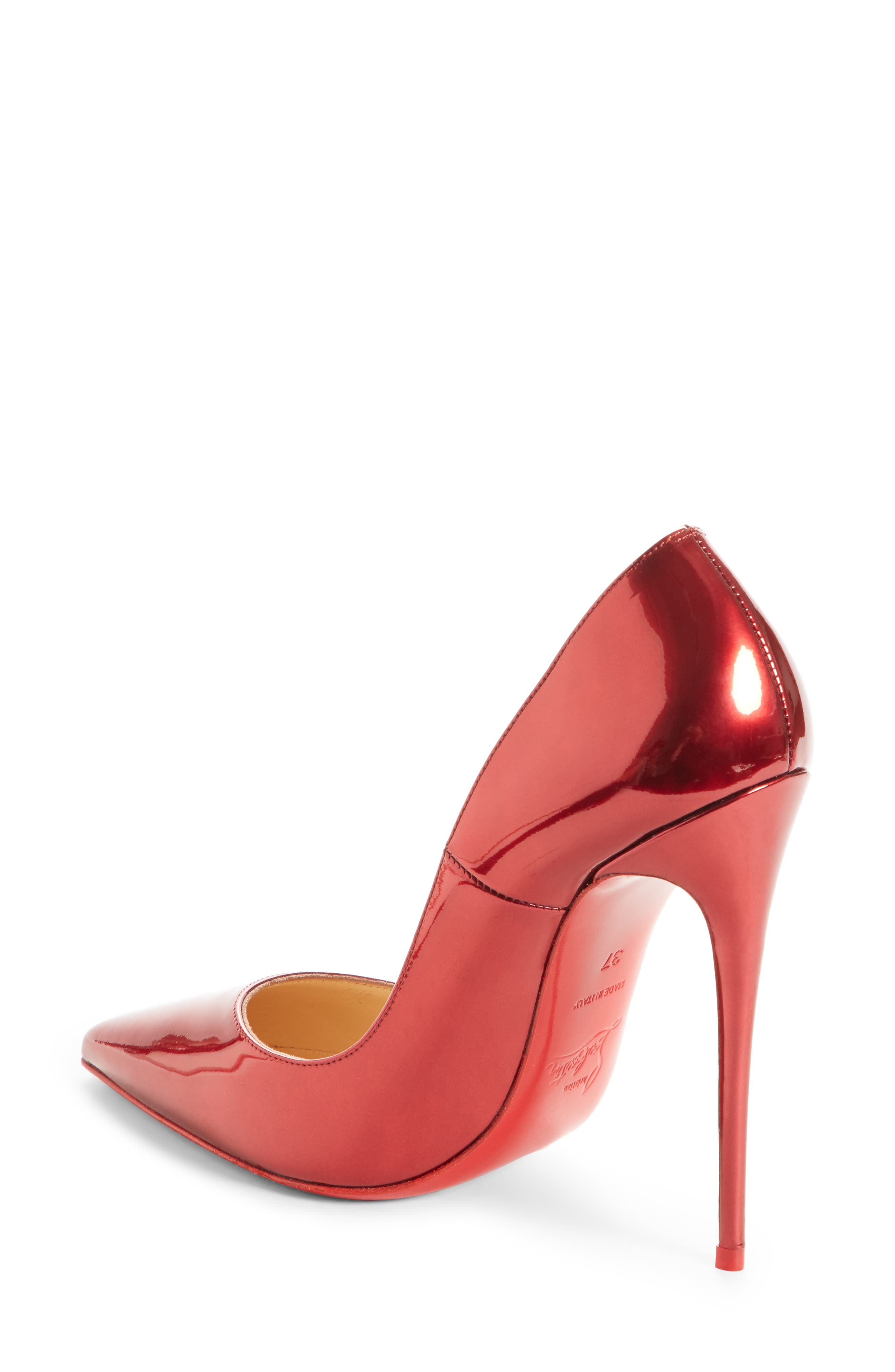 So Kate Pointy Toe Pump,                             Alternate thumbnail 2, color,                             Loubi Red