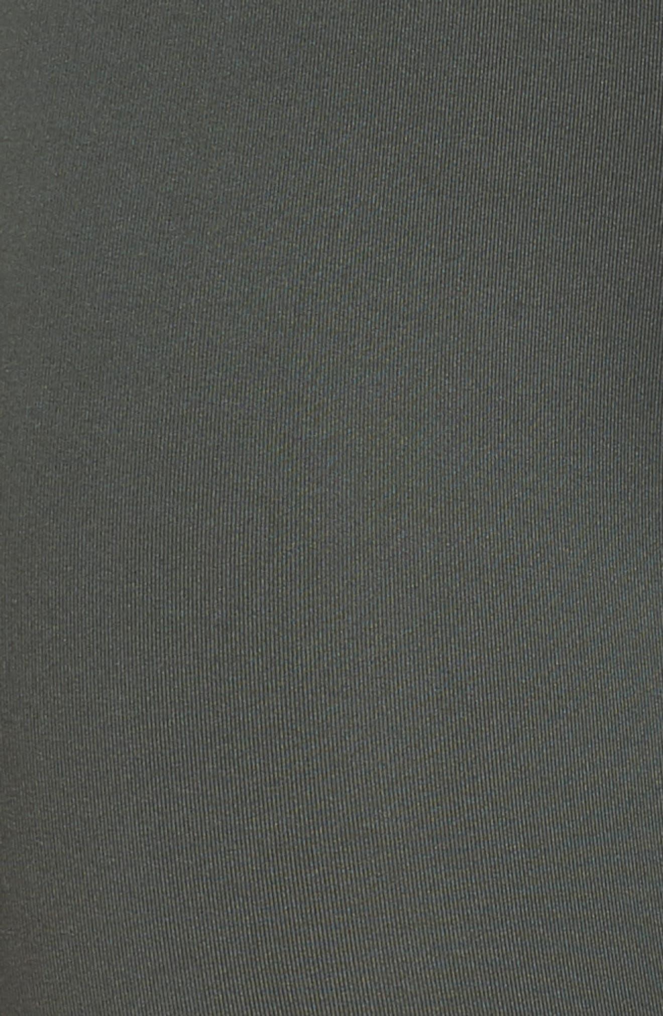 High Waist Crop Leggings,                             Alternate thumbnail 6, color,                             Grey Urban