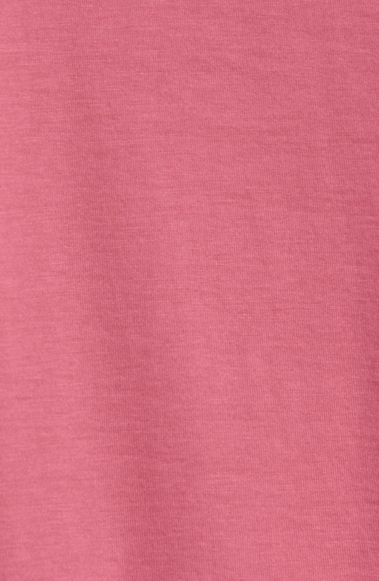 Superfine Henley T-Shirt,                             Alternate thumbnail 3, color,                             Malaga