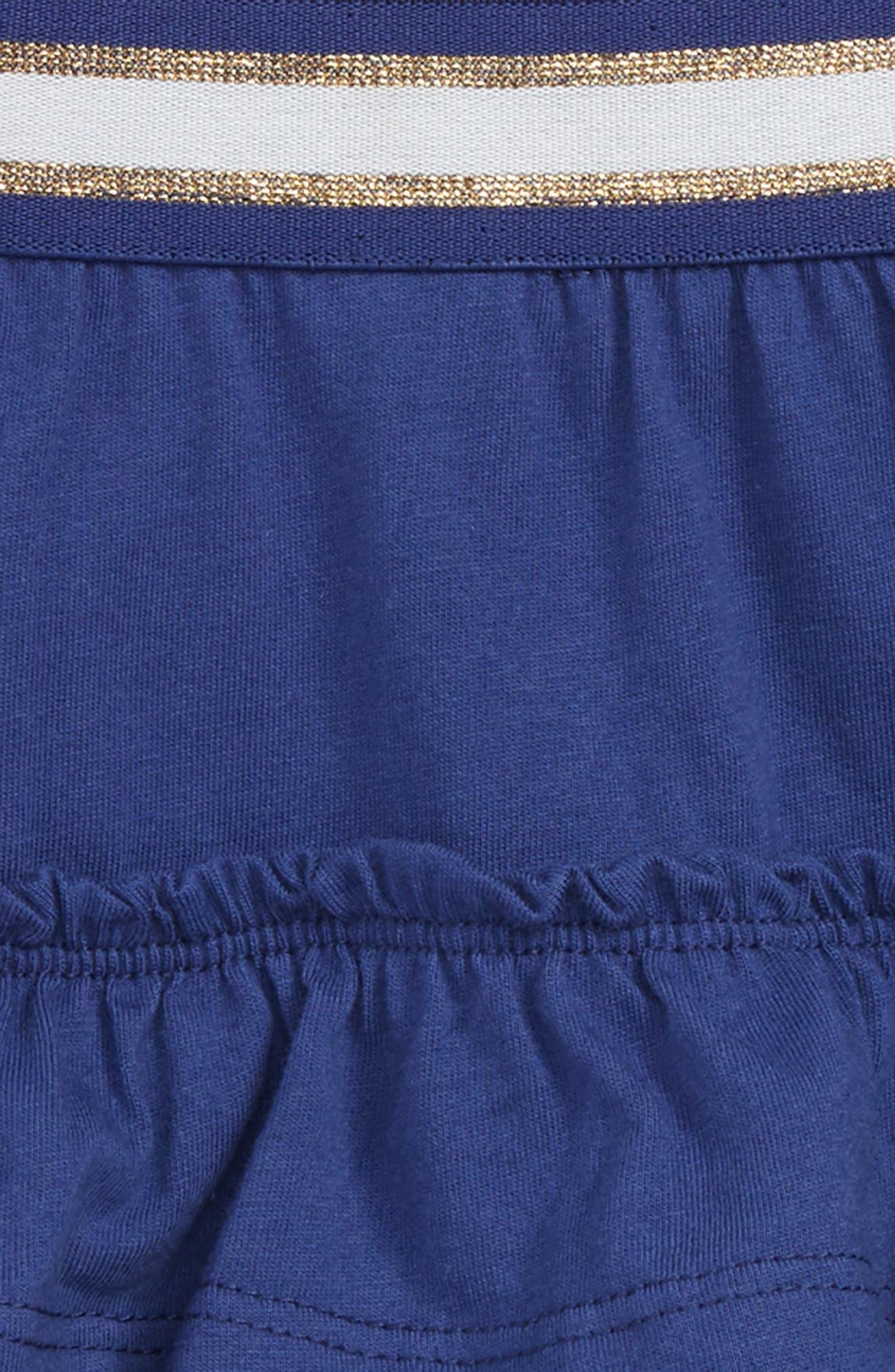Ruffle Skort,                             Alternate thumbnail 2, color,                             Indstarboard Blue