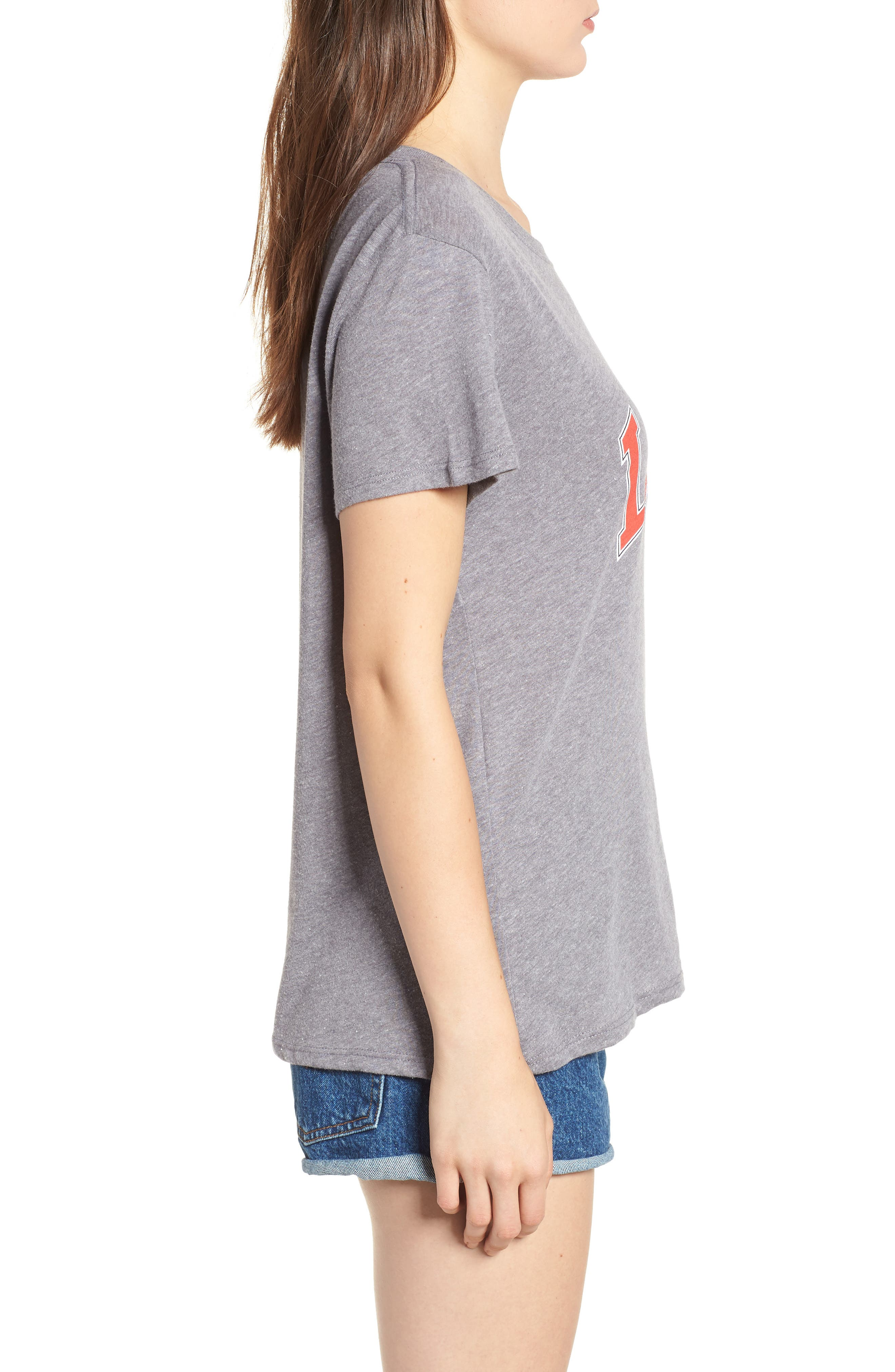 Love Tee,                             Alternate thumbnail 3, color,                             Heather Grey