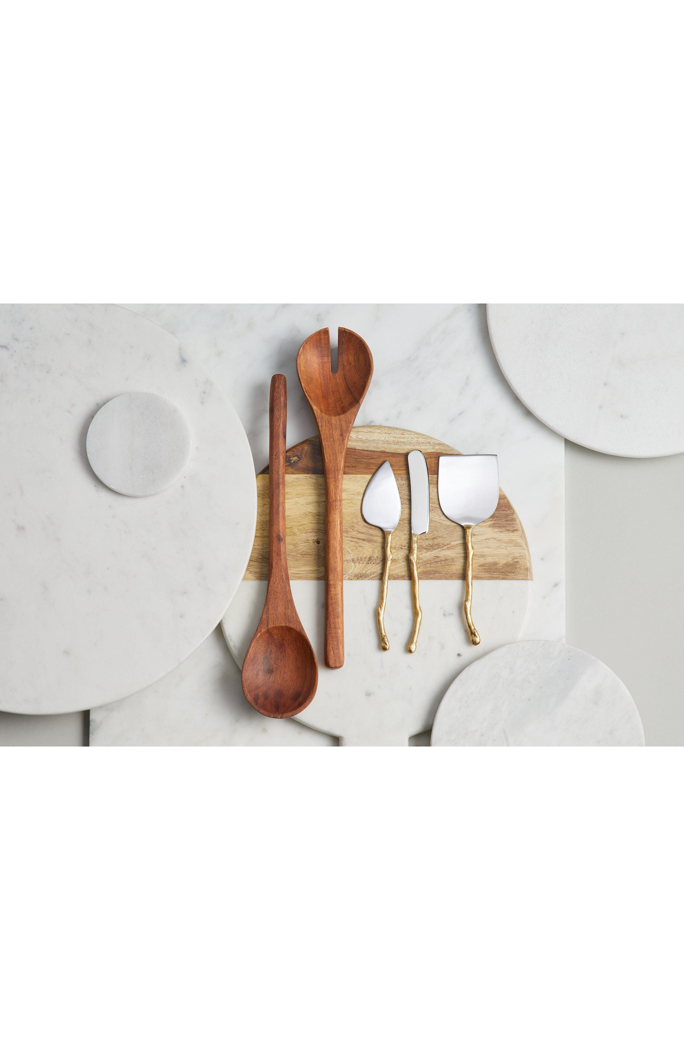 Twig Set of 3 Cheese Knives,                             Alternate thumbnail 3, color,