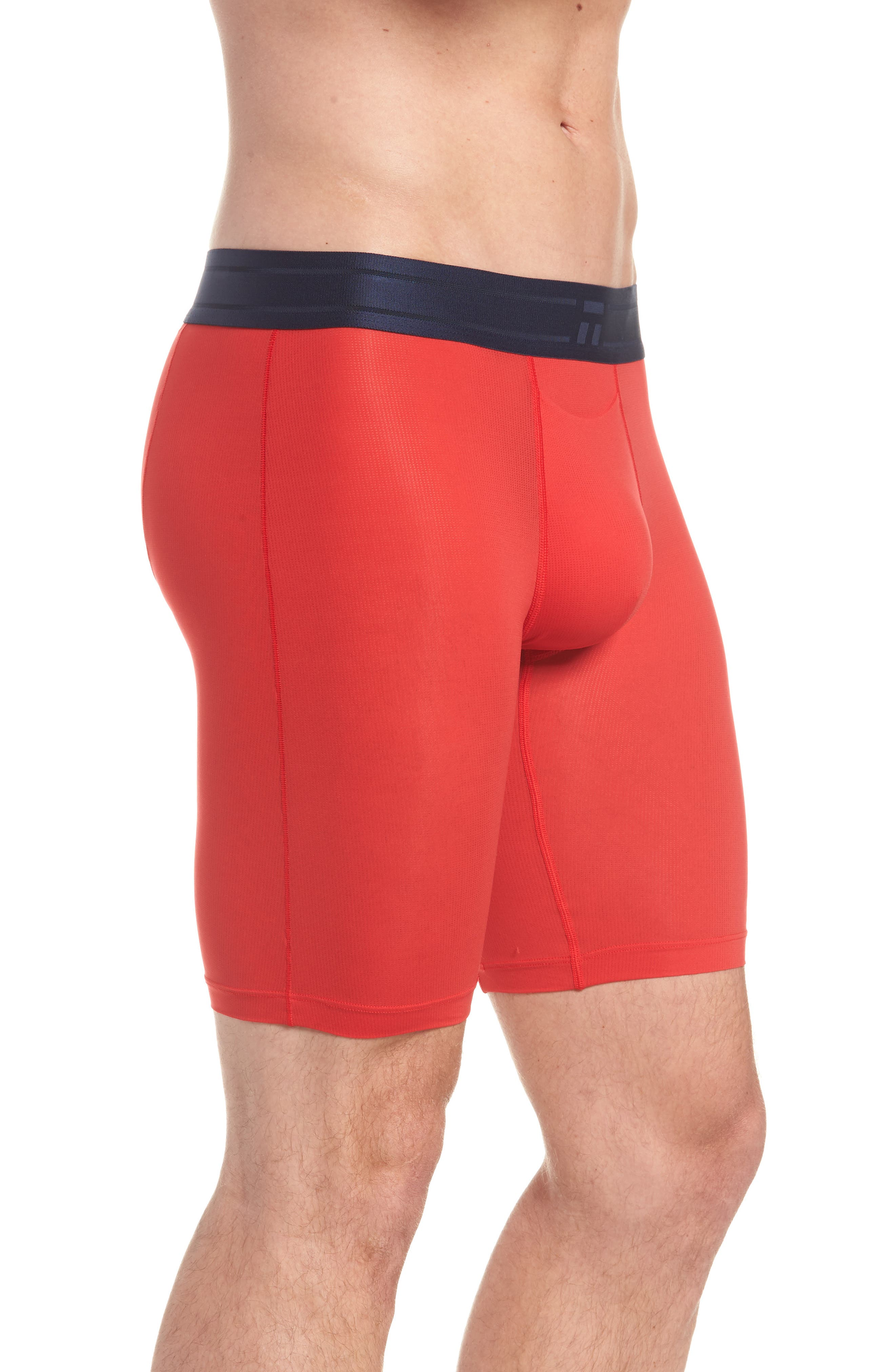 Air Boxer Briefs,                             Alternate thumbnail 3, color,                             True Red