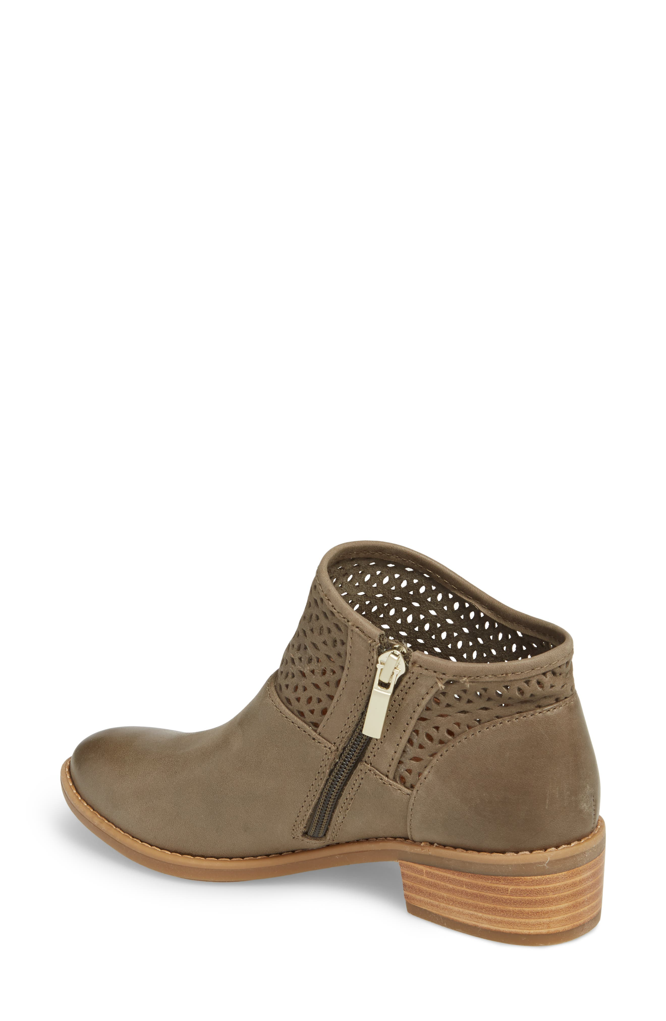 Caileen Bootie,                             Alternate thumbnail 2, color,                             Pale Olive