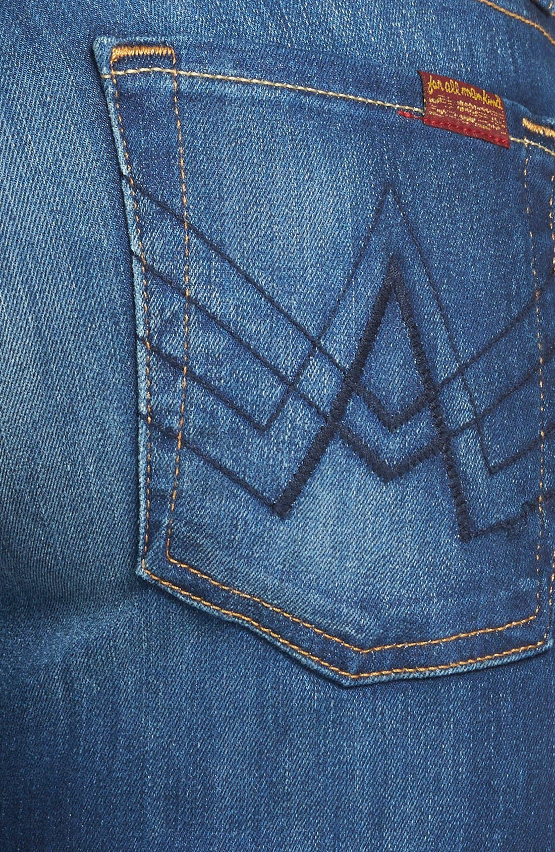 Alternate Image 3  - 7 For All Mankind® 'Lexie' Bootcut Stretch Jeans (Aggressive Siren) (Petite)