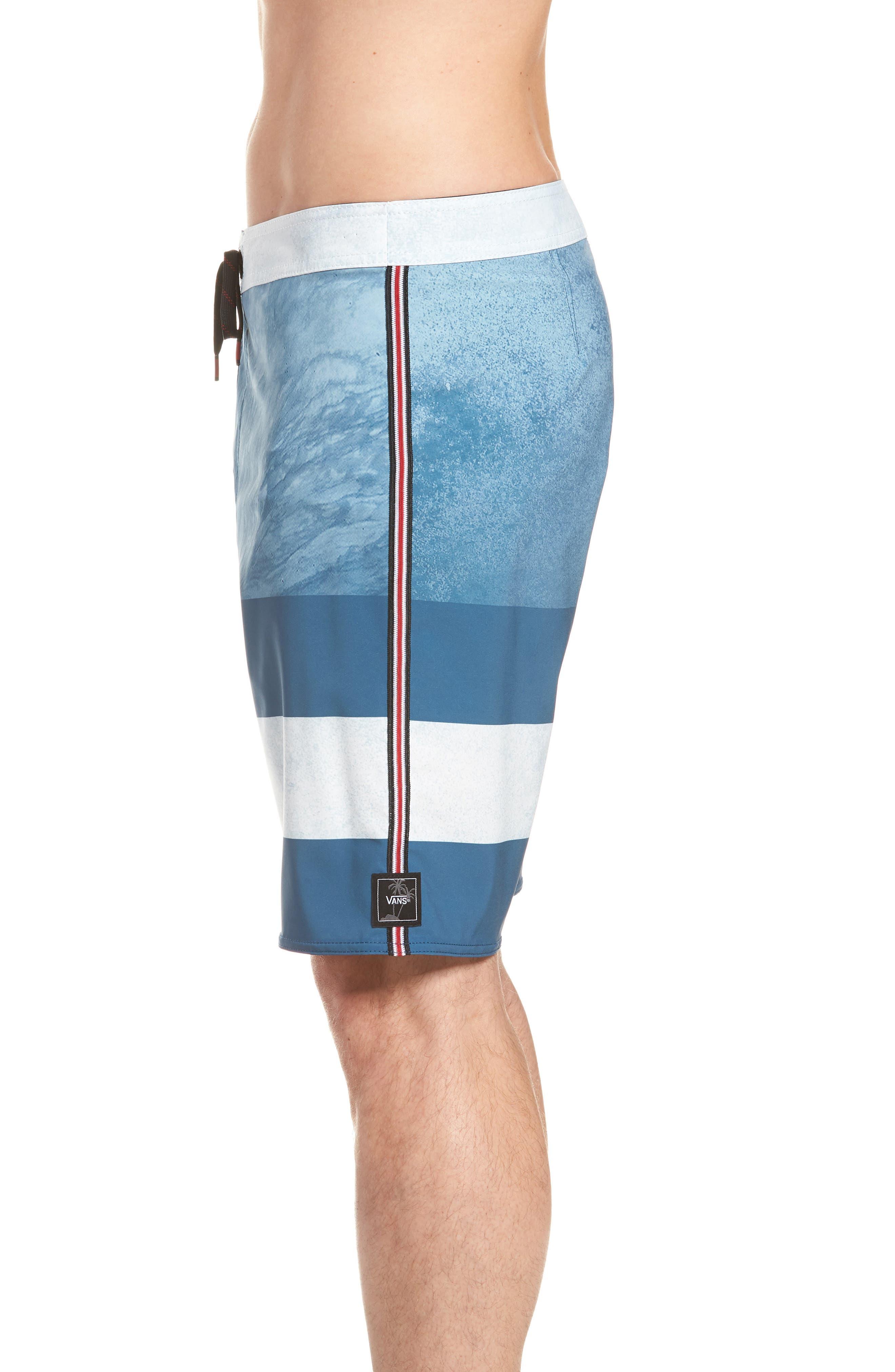 Era Board Shorts,                             Alternate thumbnail 4, color,                             Real Teal/ Nathan Florence