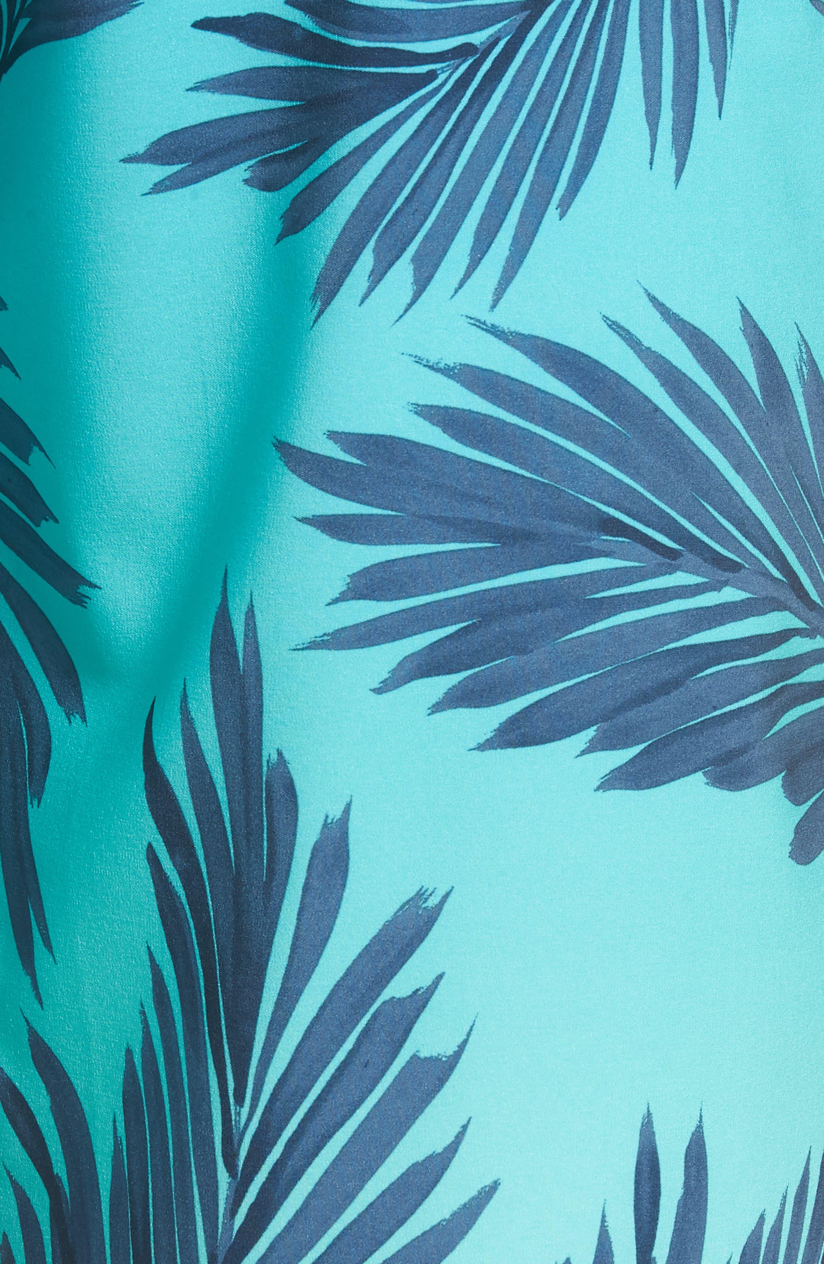 Mirage Mason Rockies Board Shorts,                             Alternate thumbnail 5, color,                             Teal