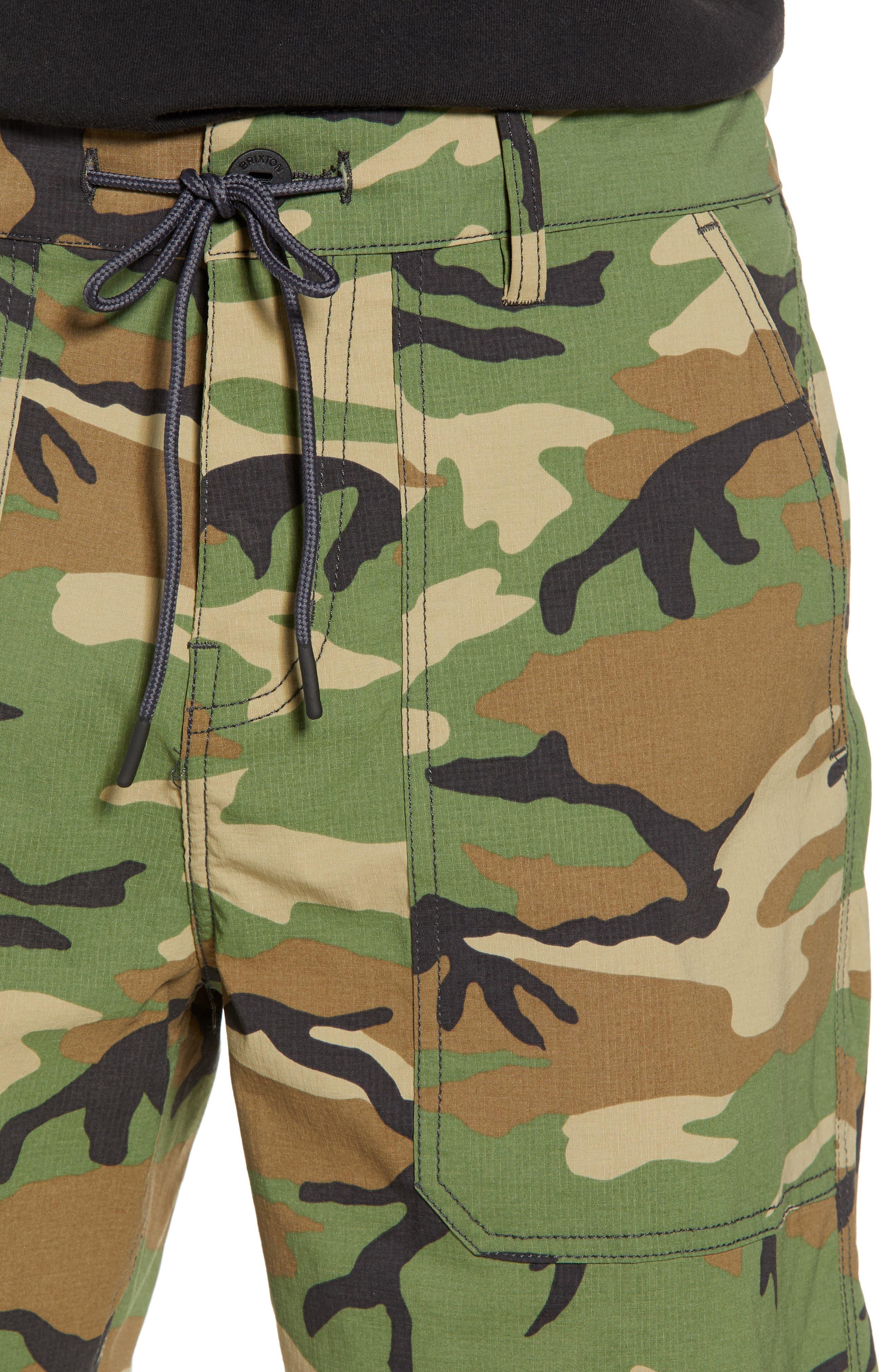 Prospect Service Shorts,                             Alternate thumbnail 4, color,                             Multi Camo