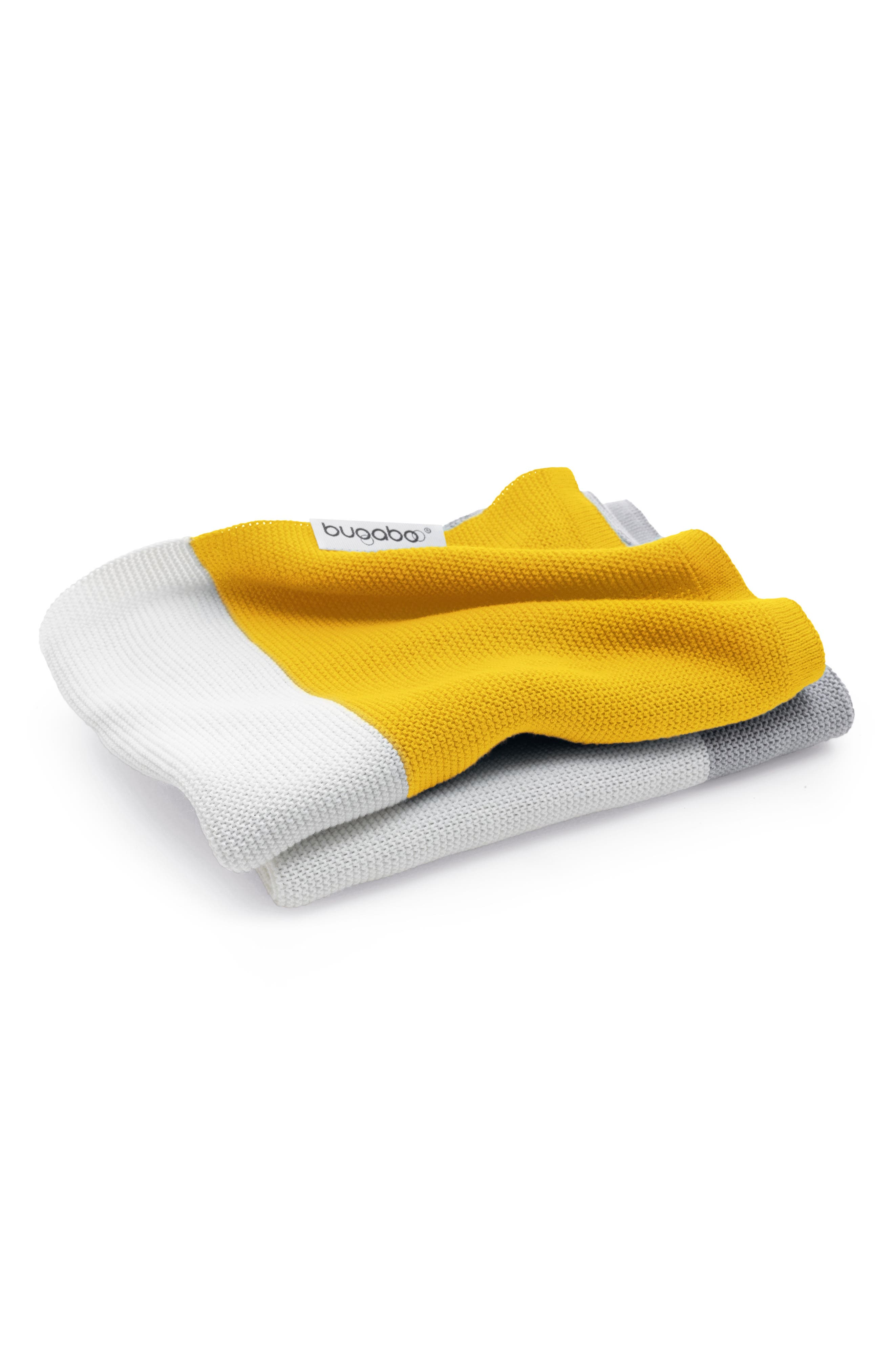 Light Cotton Blanket,                             Main thumbnail 1, color,                             Bright Yellow