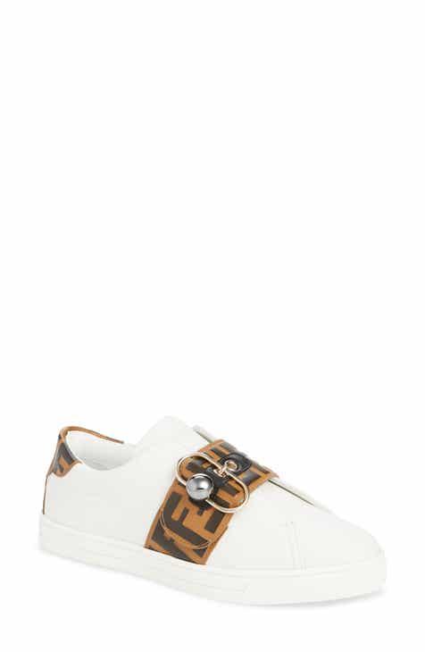 6b05ec9601be Fendi Pearland Logo Slip-On Sneaker (Women)