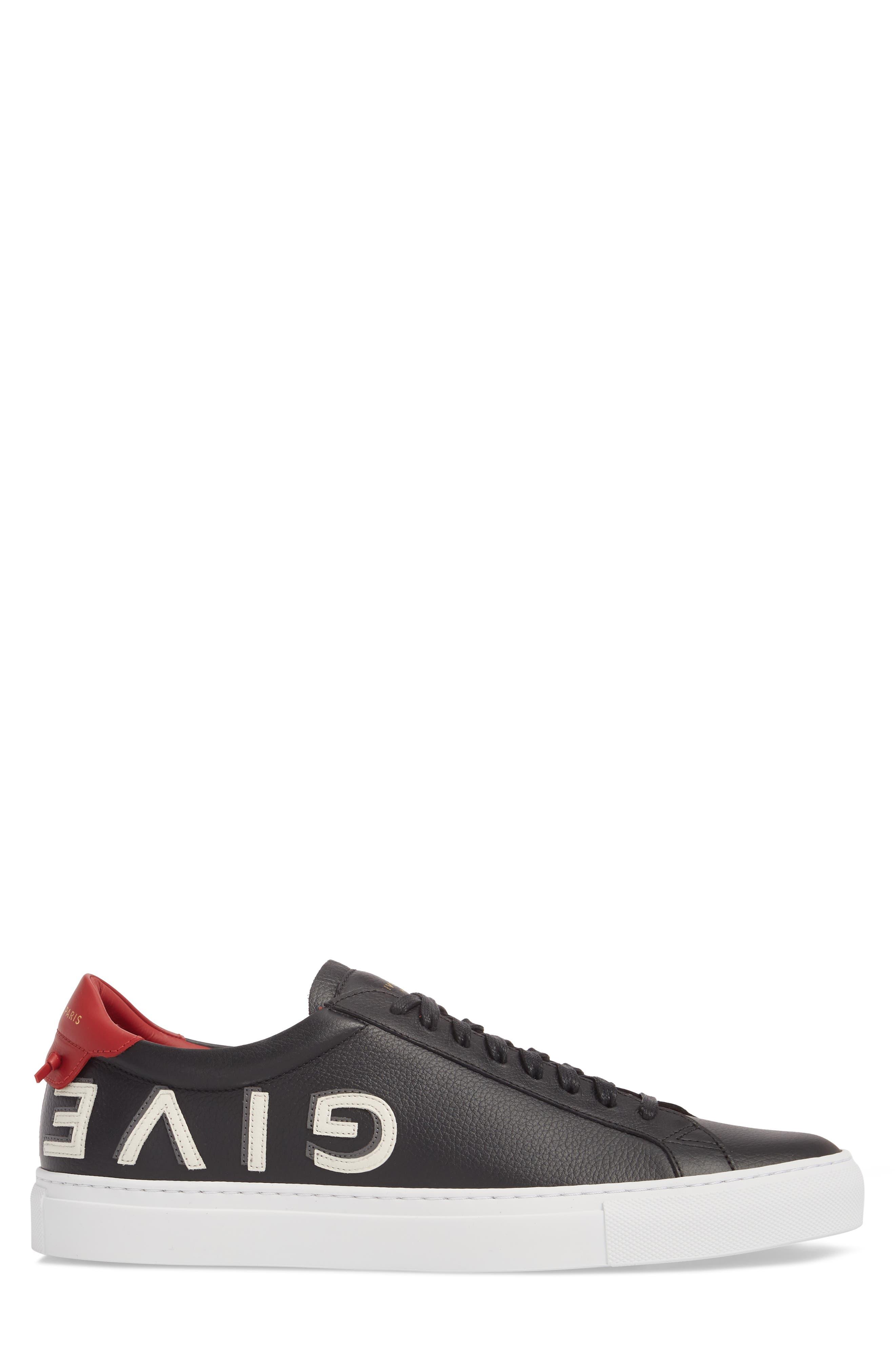 Urban Street Upside Down Sneaker,                             Alternate thumbnail 3, color,                             Black/ Red