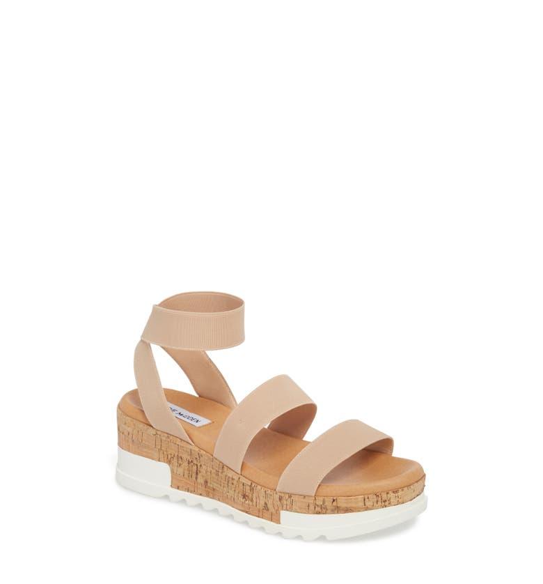 Bandi Platform Wedge Sandal, Main, color, Blush