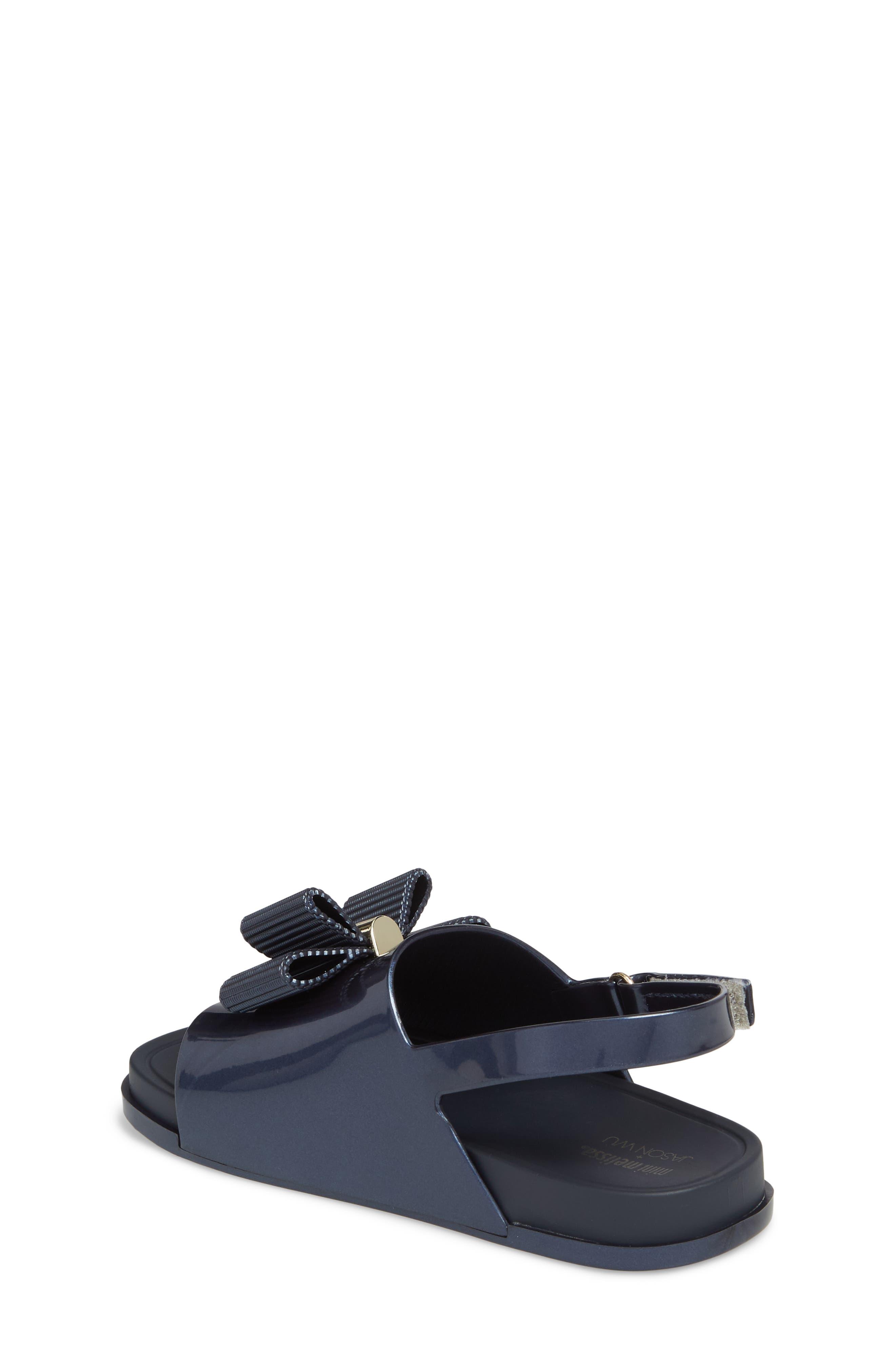 + Jason Wu Mini Beach Slide Sandal,                             Alternate thumbnail 2, color,                             Navy Dark