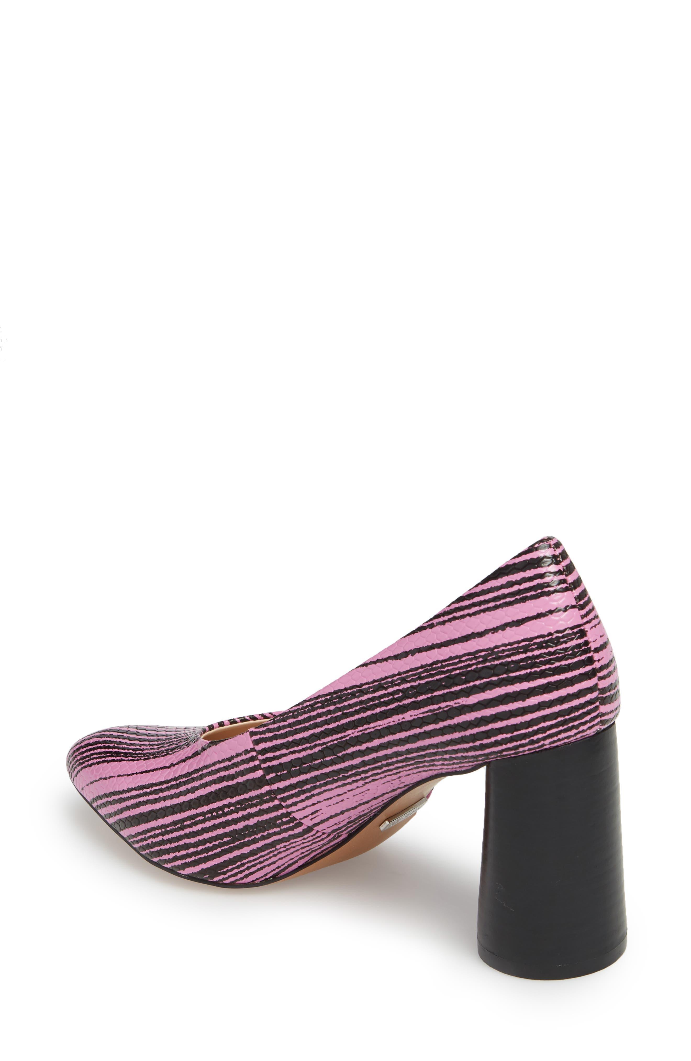 Ginger Cone Heel Pump,                             Alternate thumbnail 2, color,                             Pink
