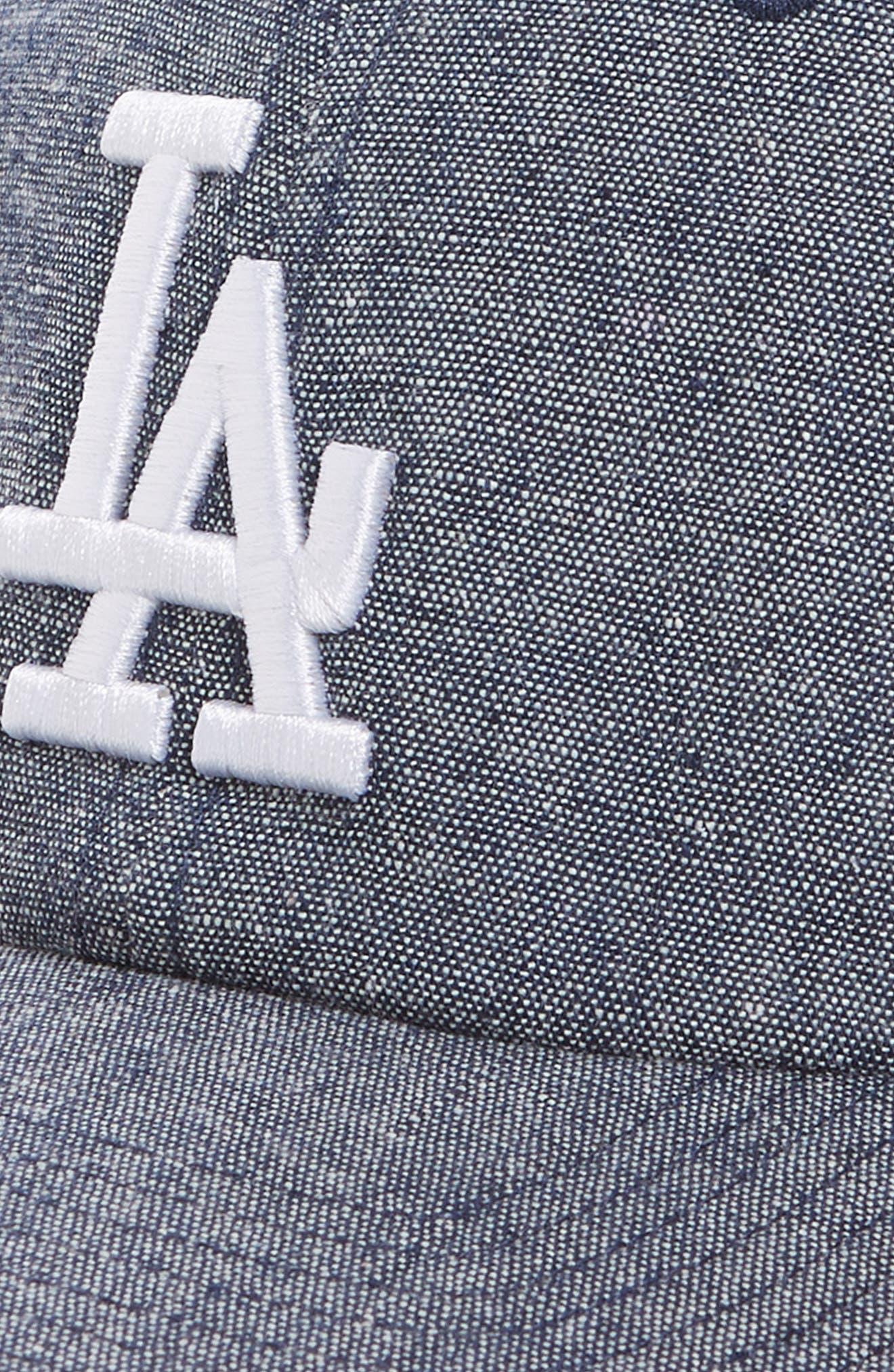 Emery Clean Up LA Dodgers Baseball Cap,                             Alternate thumbnail 3, color,                             Navy