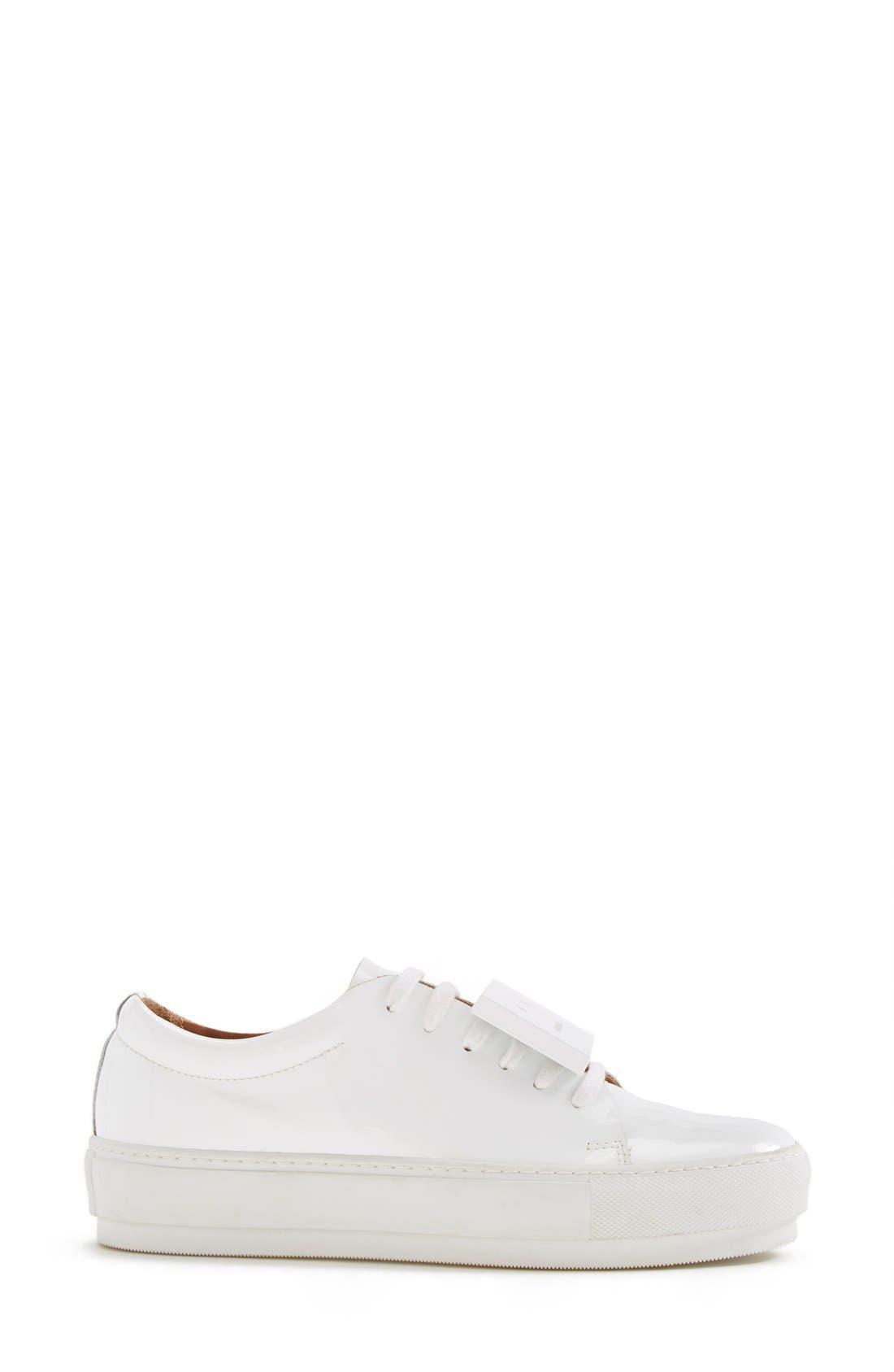 Alternate Image 4  - Acne Studios Adriana Leather Sneaker (Women)