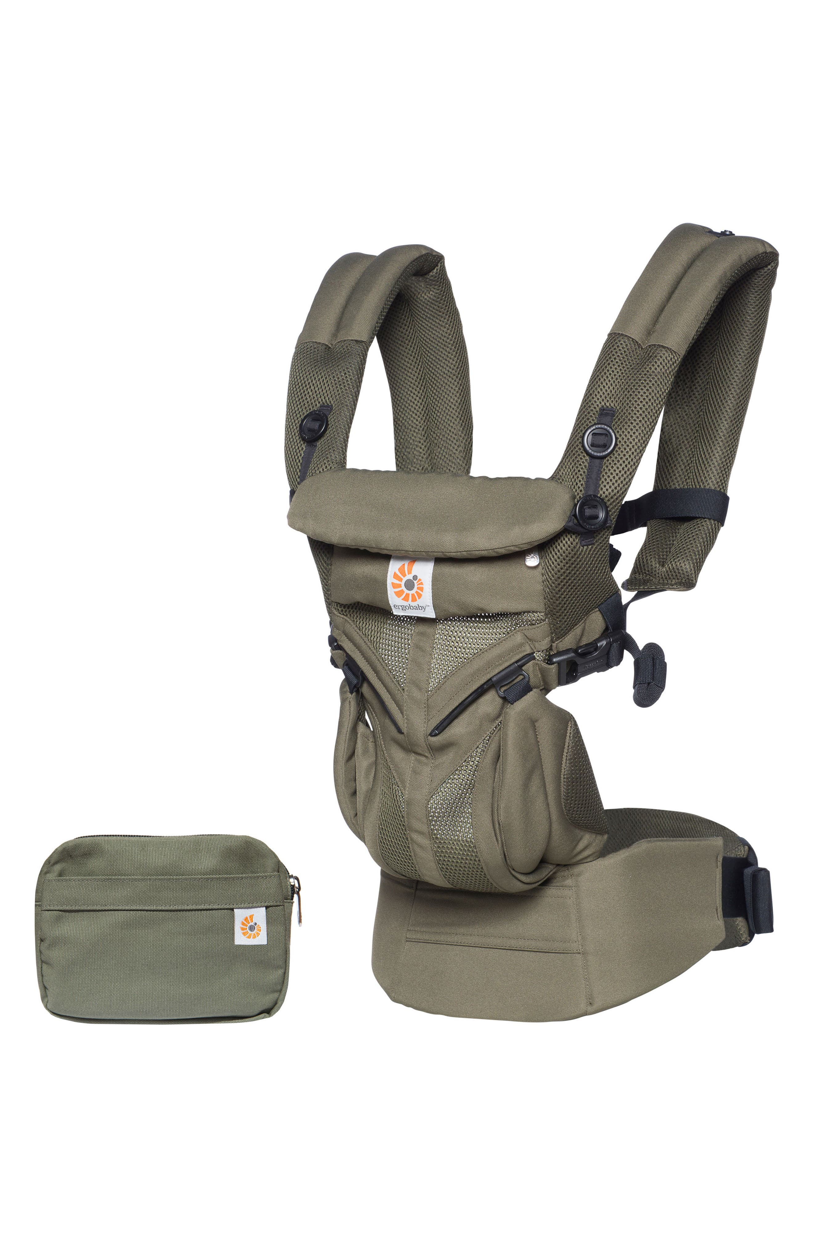 Omni 360 - Cool Air Baby Carrier,                         Main,                         color, Khaki Green