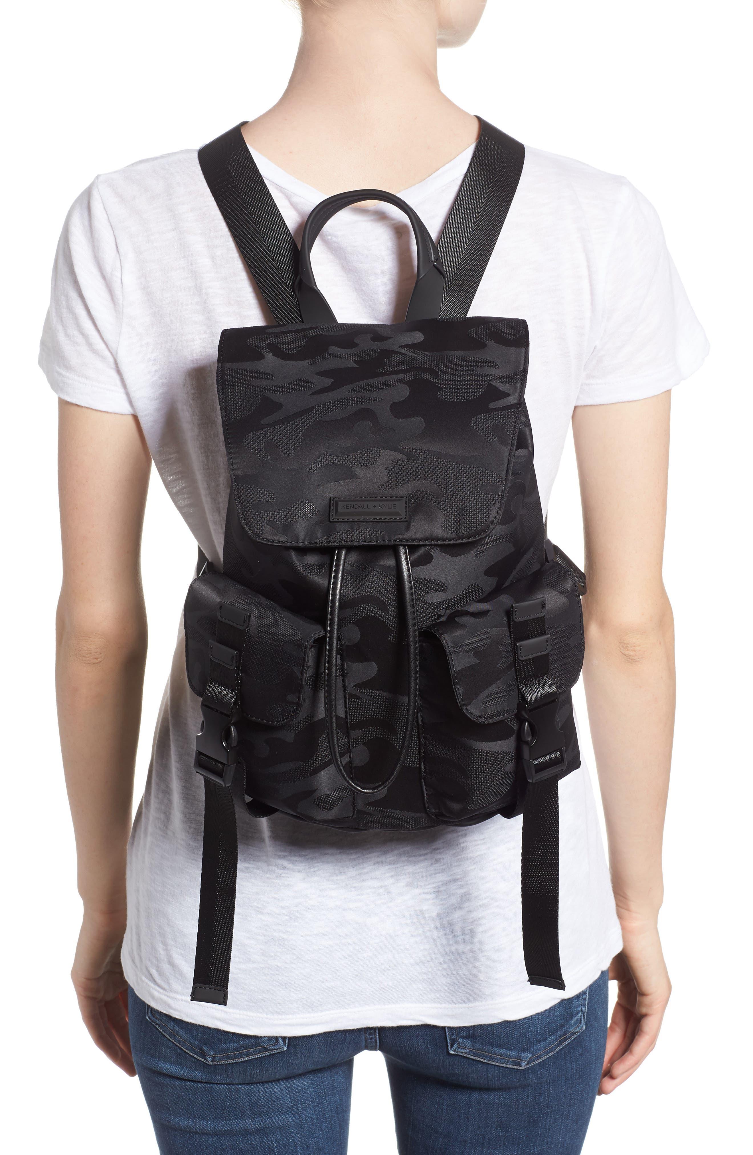 Parker Water Resistant Backpack,                             Alternate thumbnail 2, color,                             Black Camo
