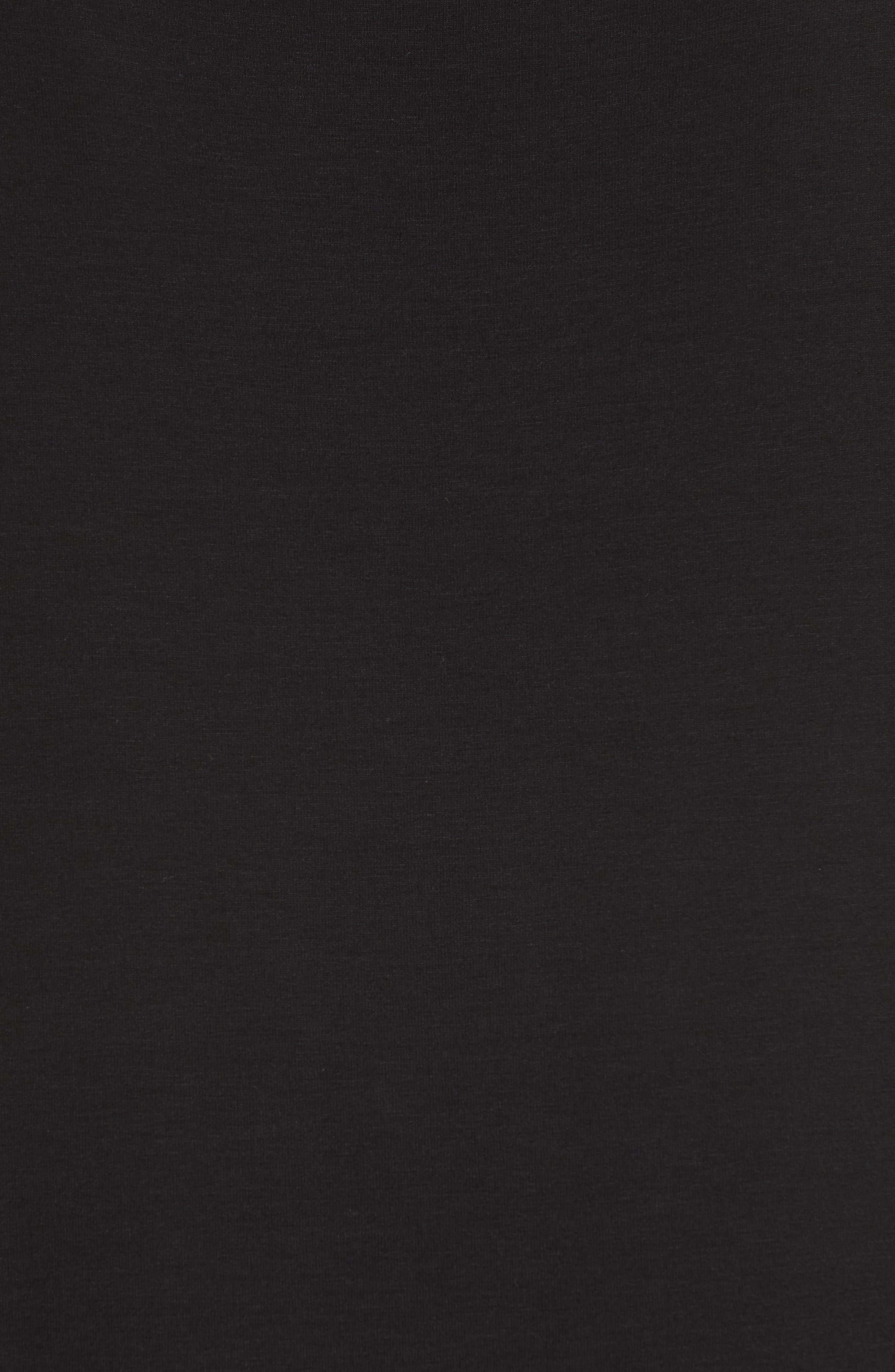 Cami Dress,                             Alternate thumbnail 3, color,                             Black