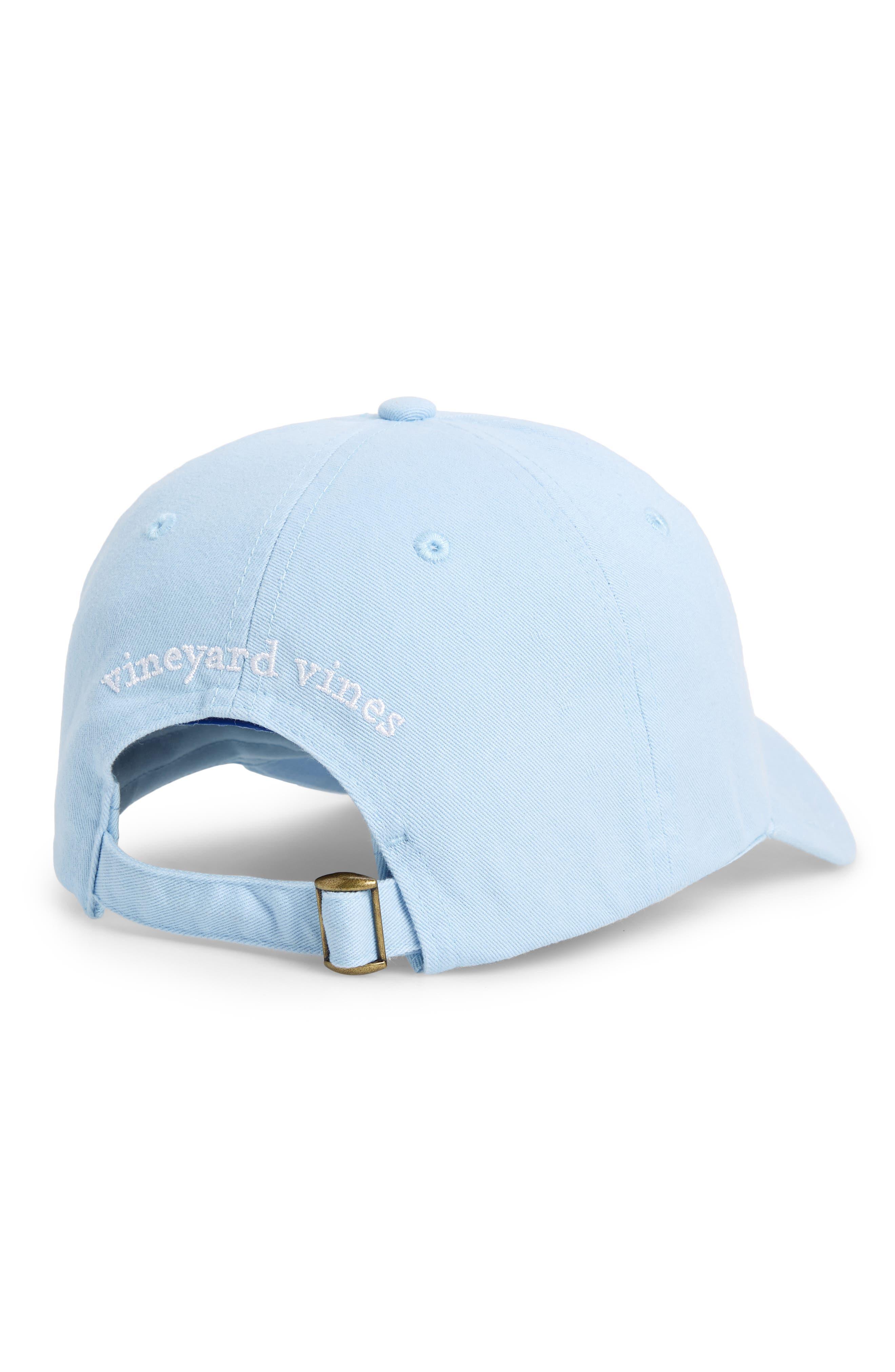Classic Sail Patch Baseball Cap,                             Alternate thumbnail 2, color,                             Surf Blue
