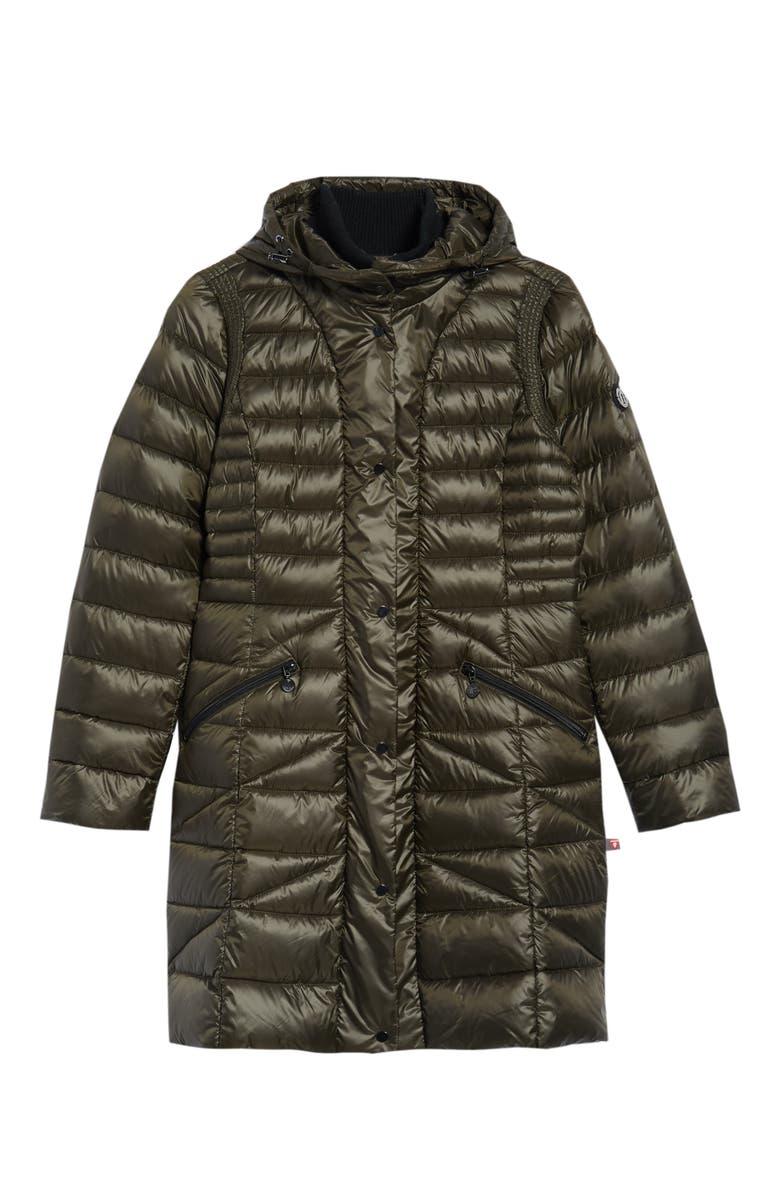 Bib Hooded Walker Coat