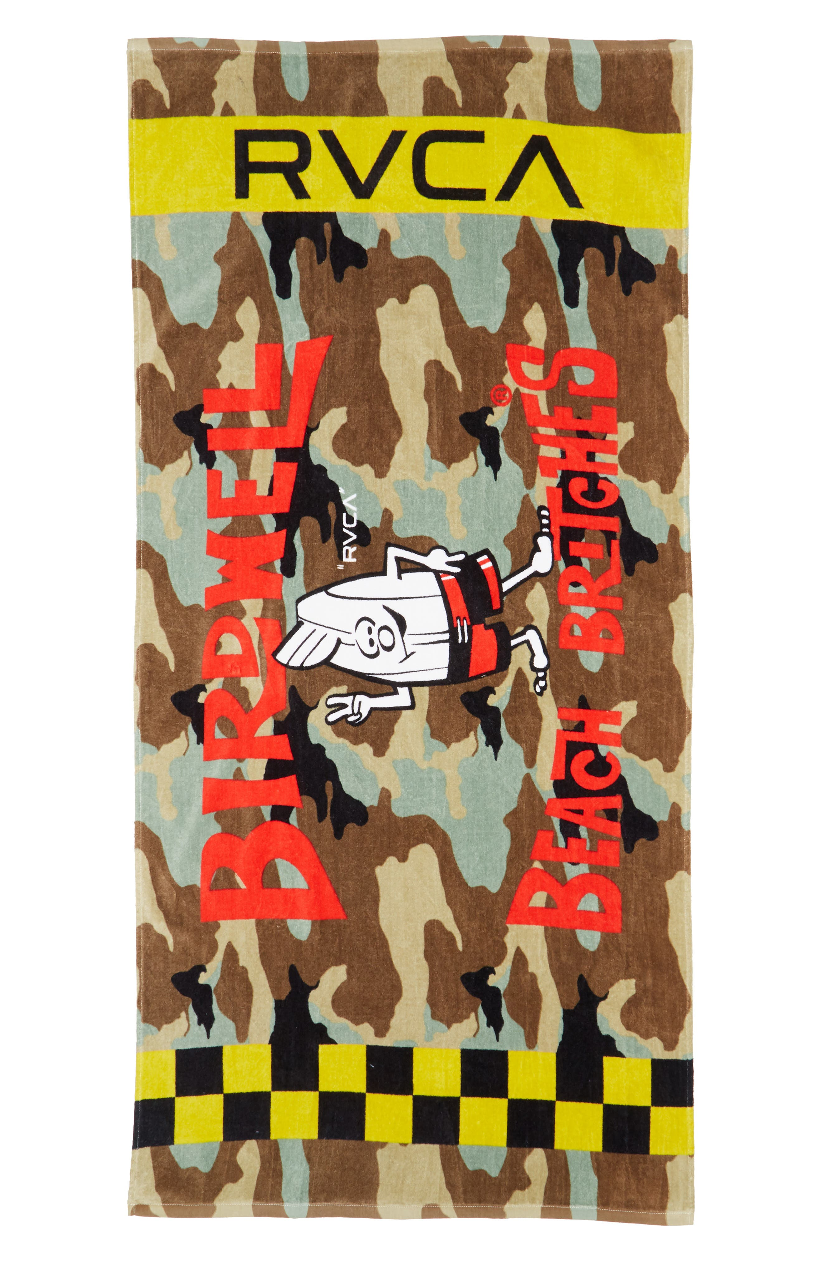 Bomber Towel,                         Main,                         color, Multi