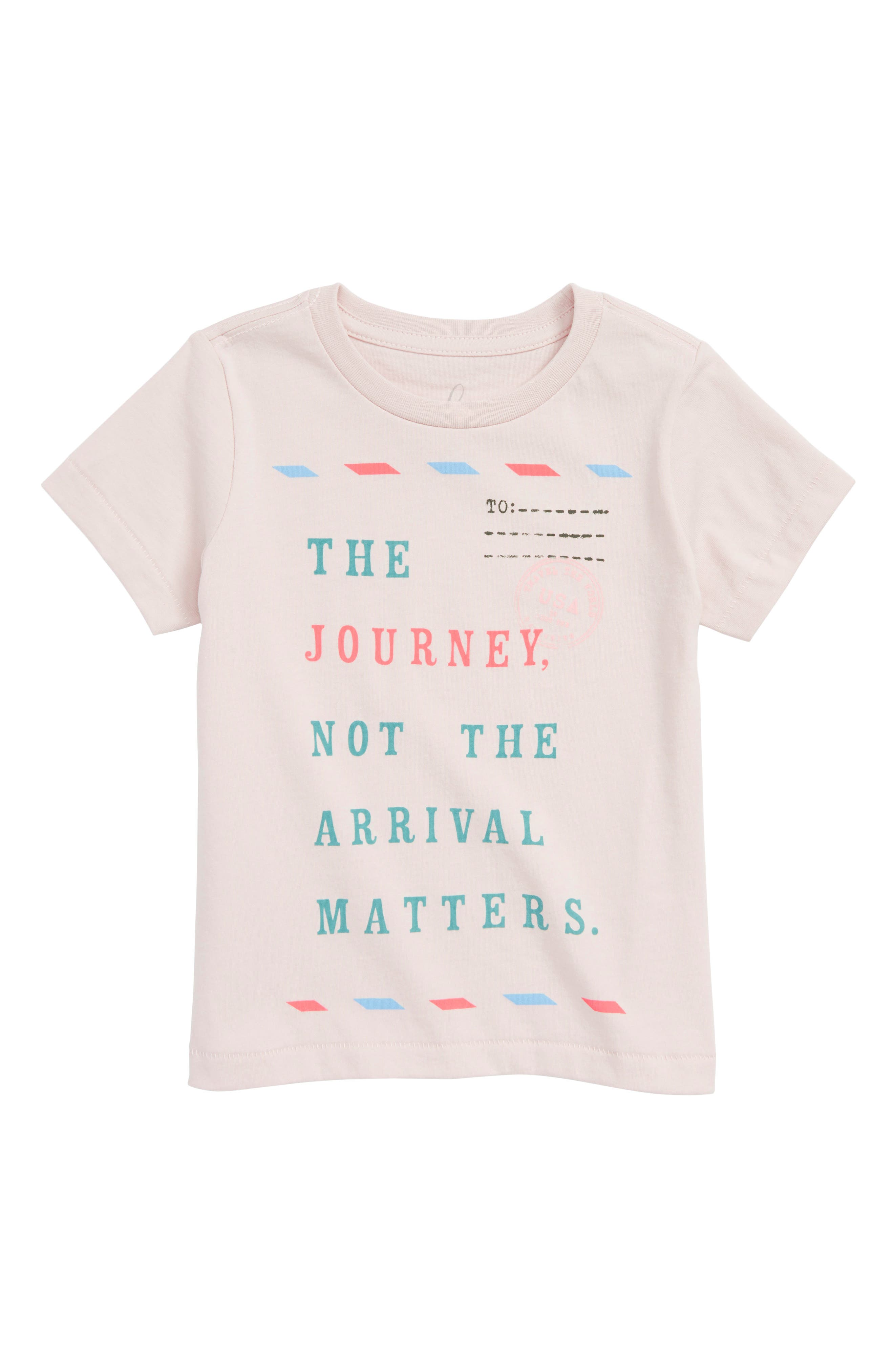 The Journey Graphic Tee,                             Main thumbnail 1, color,                             Ivory
