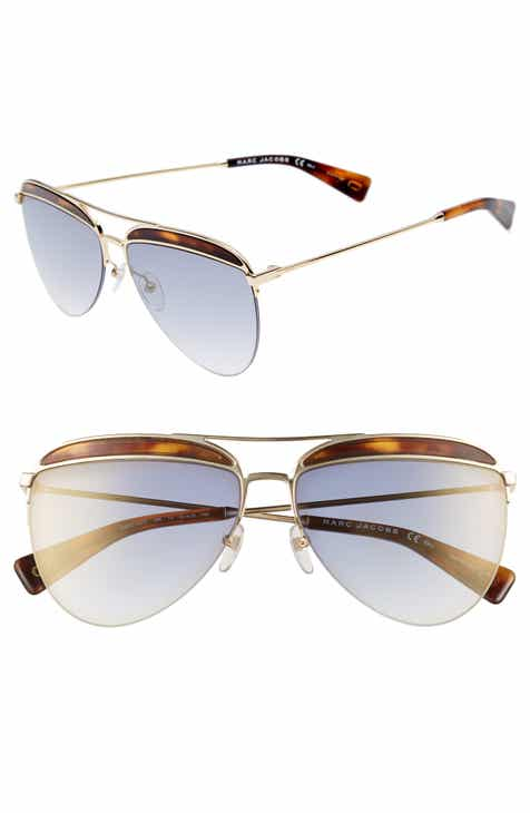 ee540d537e07 MARC JACOBS 61mm Aviator Sunglasses