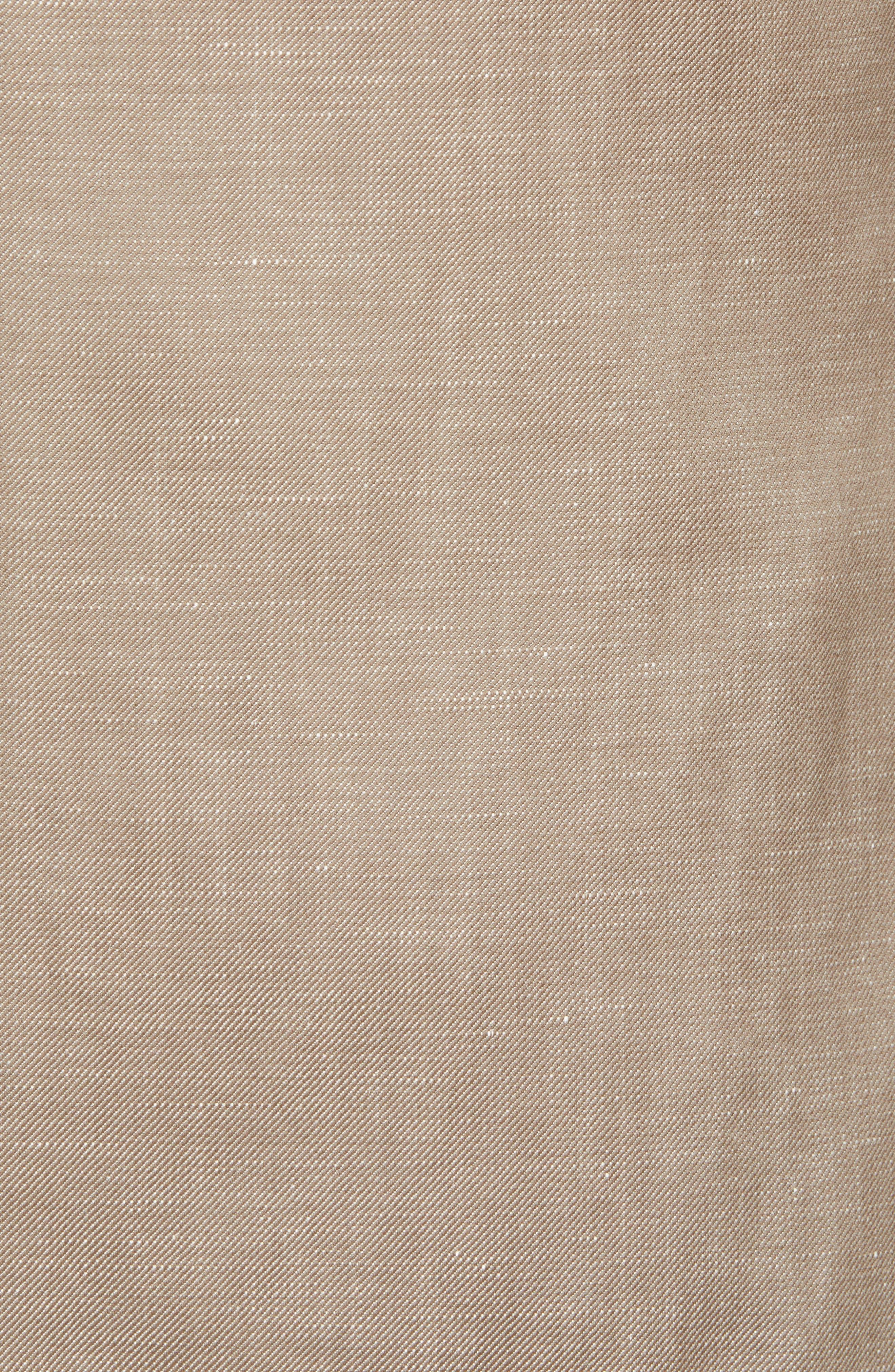 Traditional Fit Wool & Linen Blazer,                             Alternate thumbnail 3, color,                             Tan