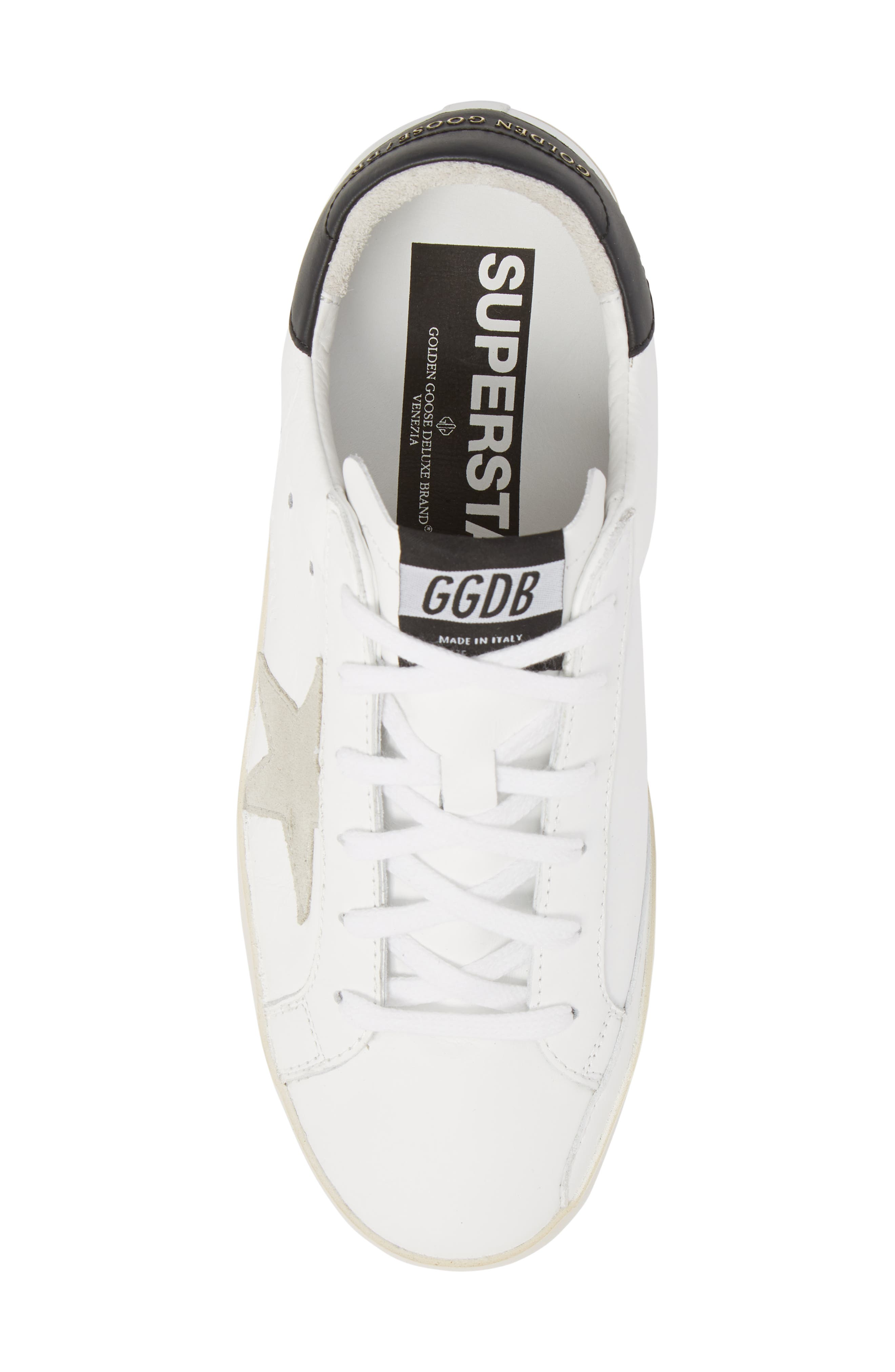 Superstar Lace Up Sneaker by Golden Goose