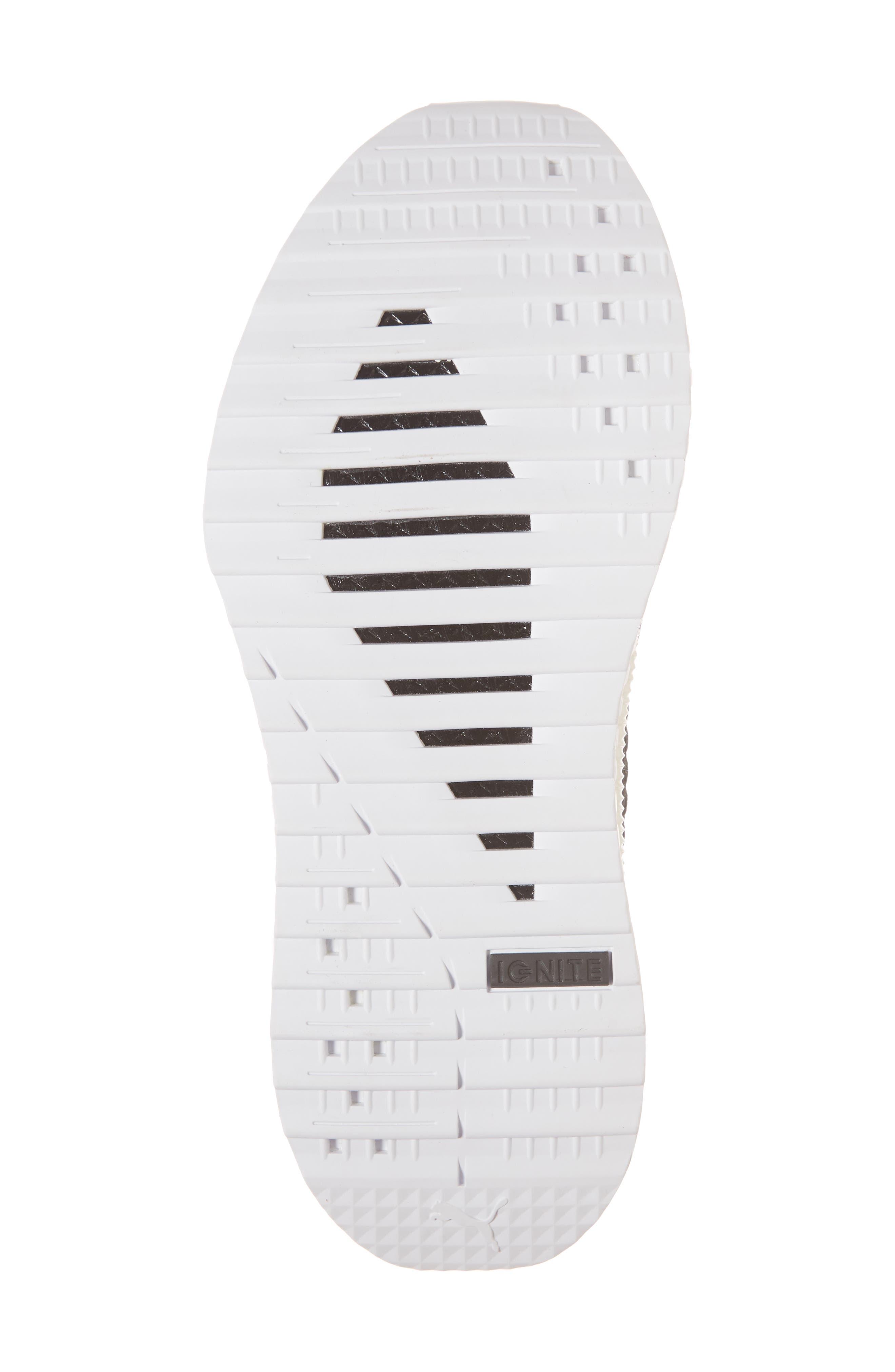Tsugi Netfit V2 EvoKNIT Sneaker,                             Alternate thumbnail 4, color,                             Black/ Asphalt/ White