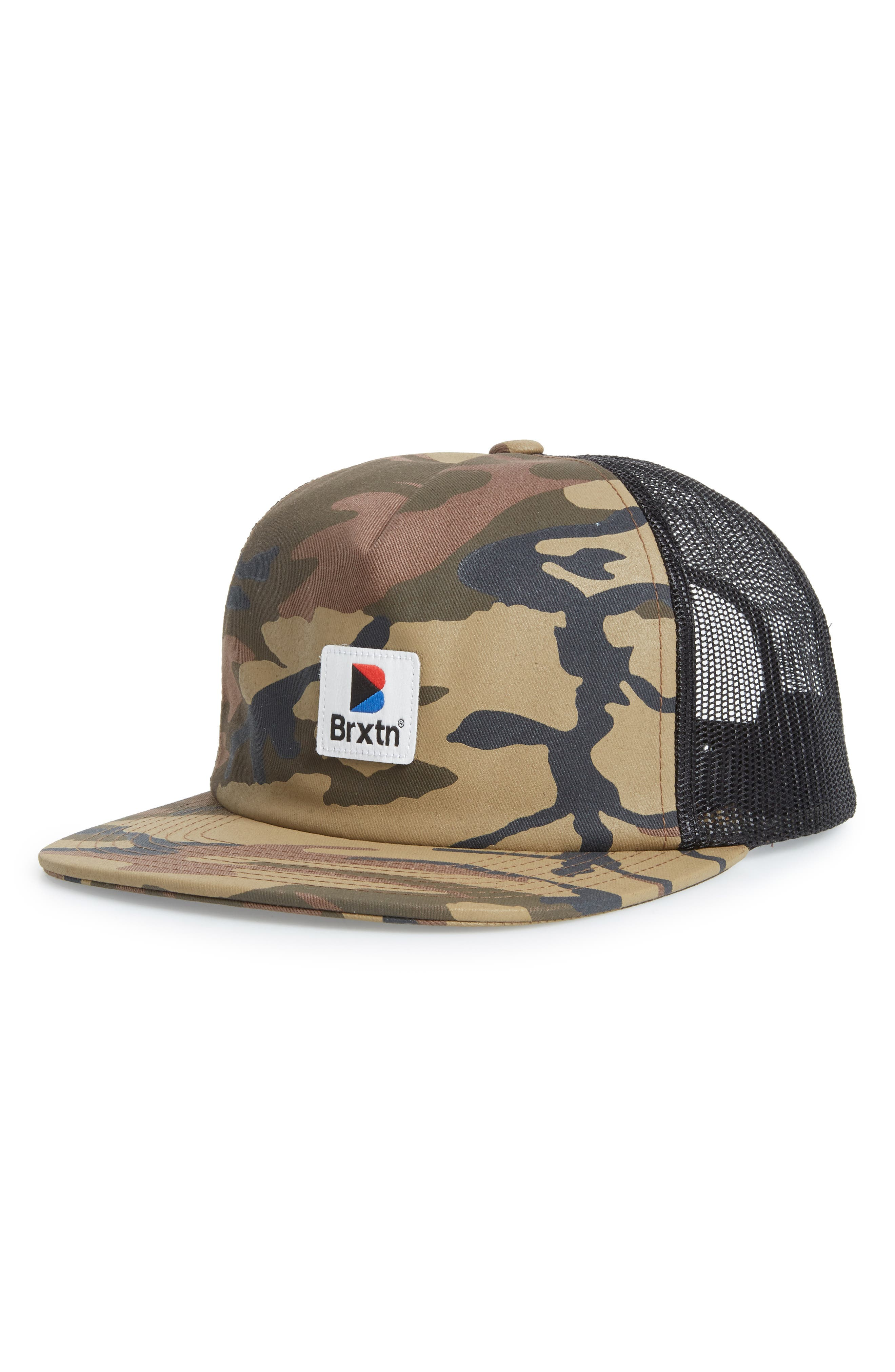Stowell Camo Baseball Cap,                         Main,                         color, Camo