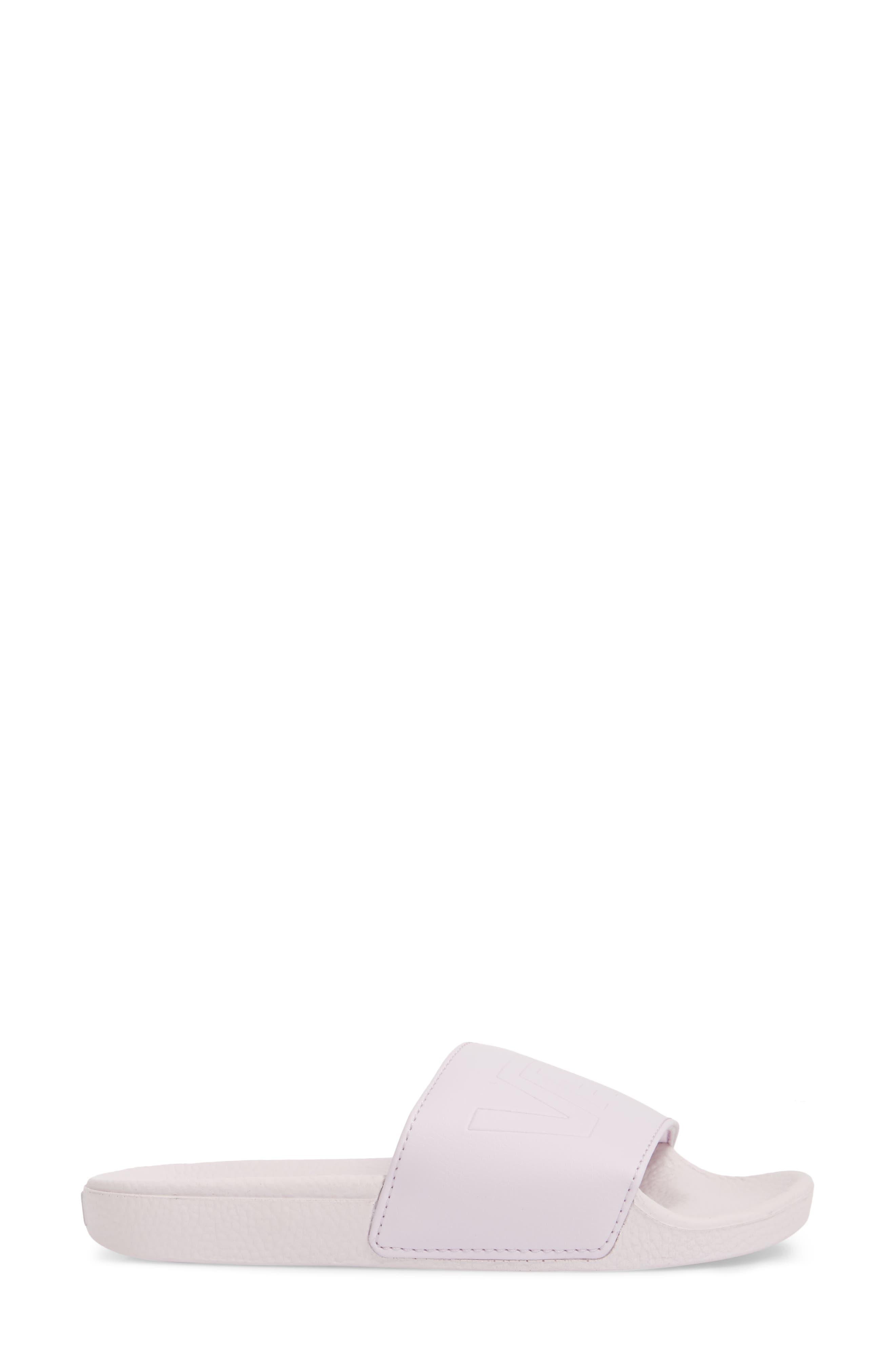 Slide-On Sandal,                             Alternate thumbnail 3, color,                             Lavender Fog