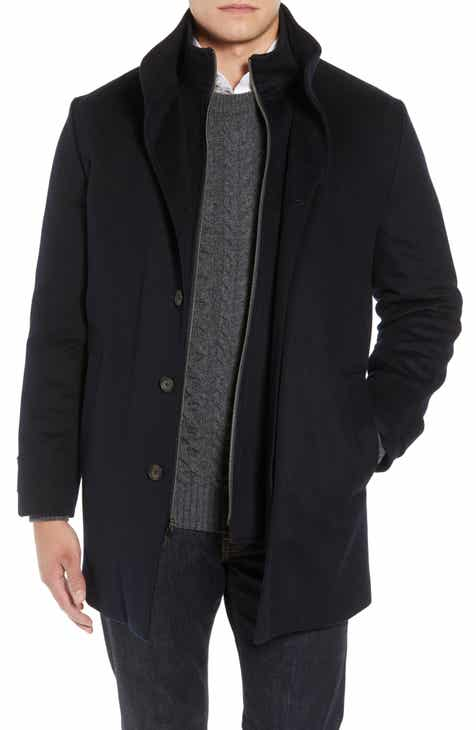 John W. Nordstrom® Hudson Wool Car Coat