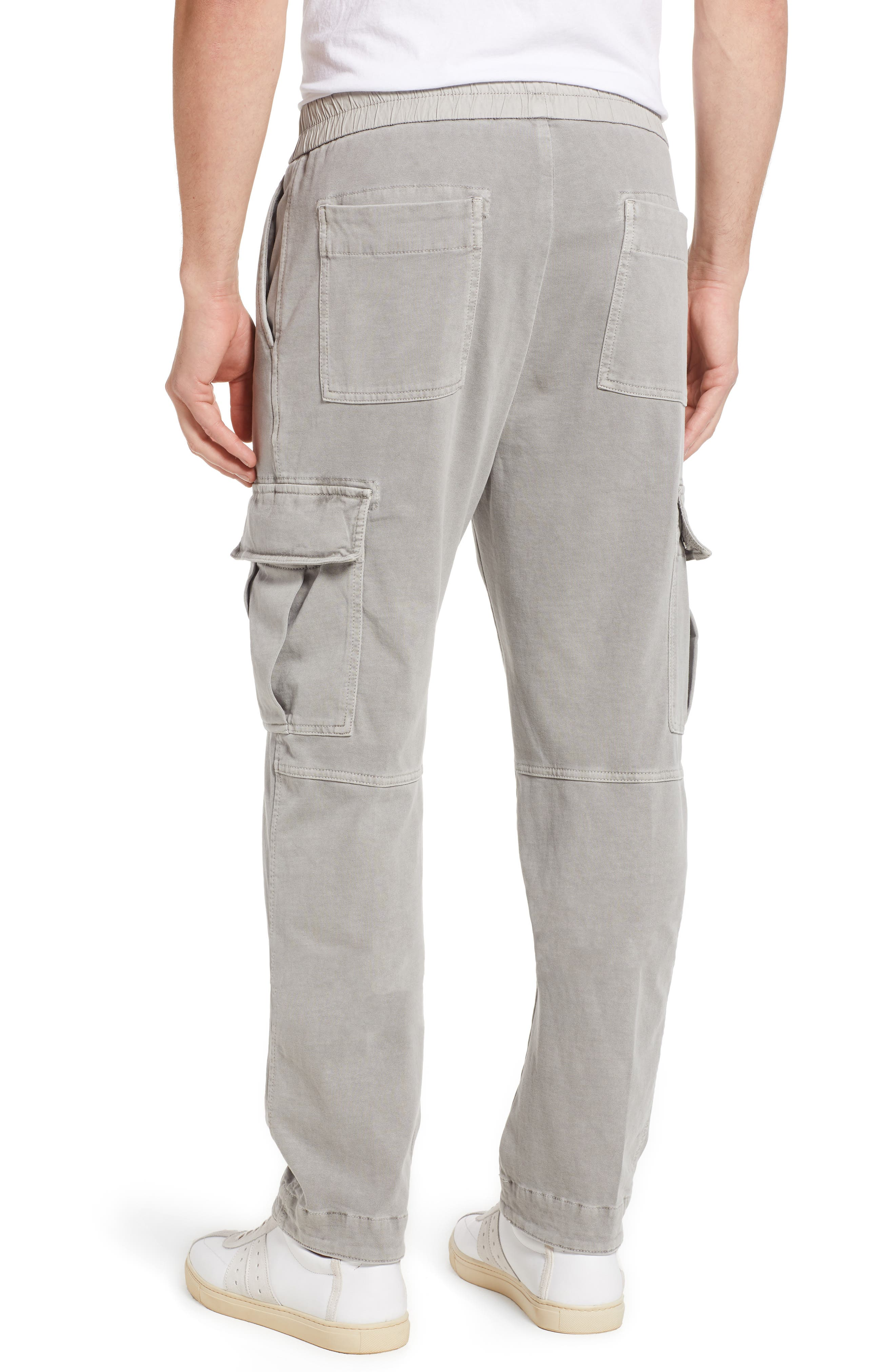 Cotton Jersey Relaxed Fit Cargo Pants,                             Alternate thumbnail 2, color,                             Paver Pigment