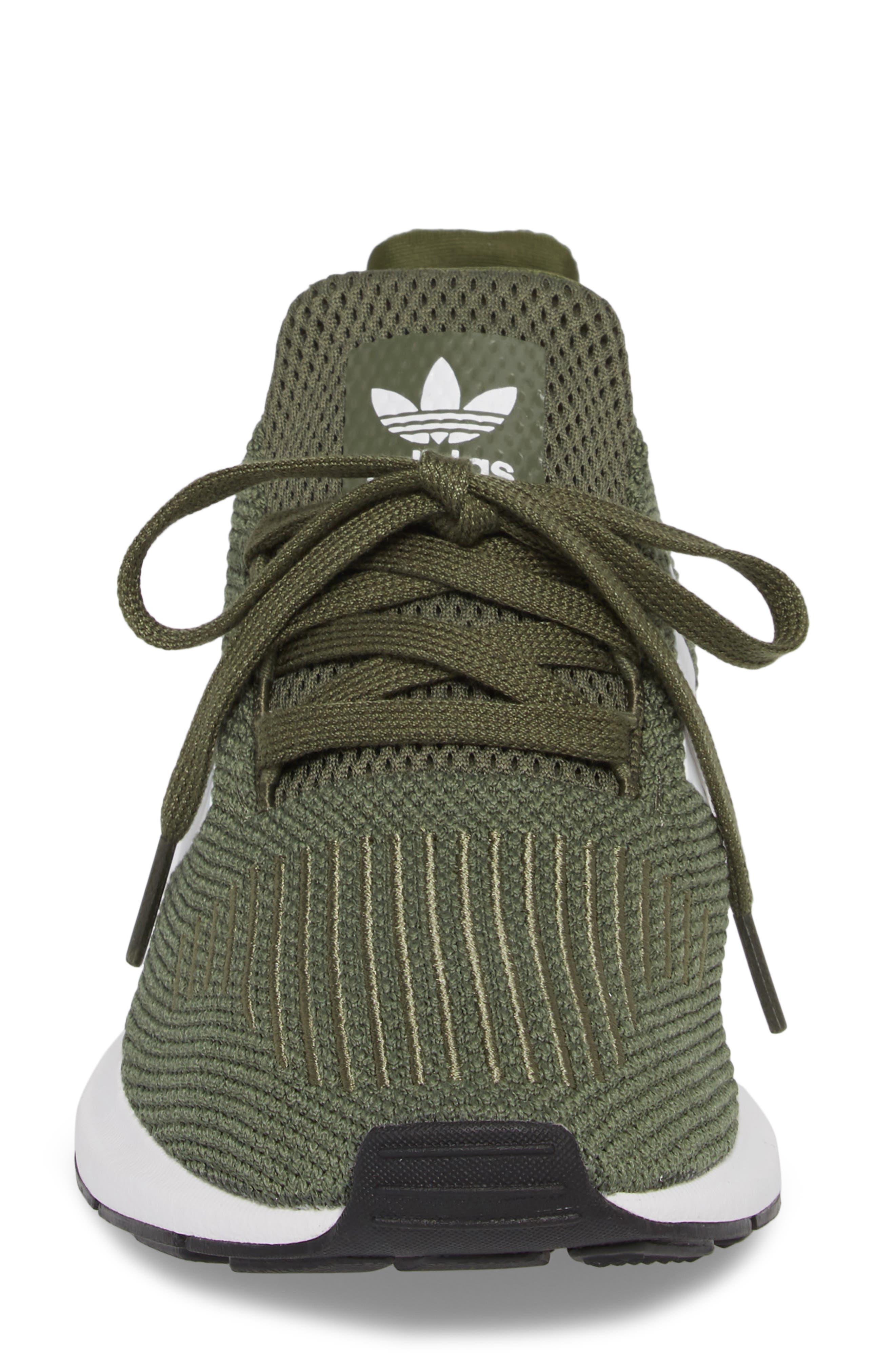 Swift Run Sneaker,                             Alternate thumbnail 3, color,                             Base Green/ White/ Black