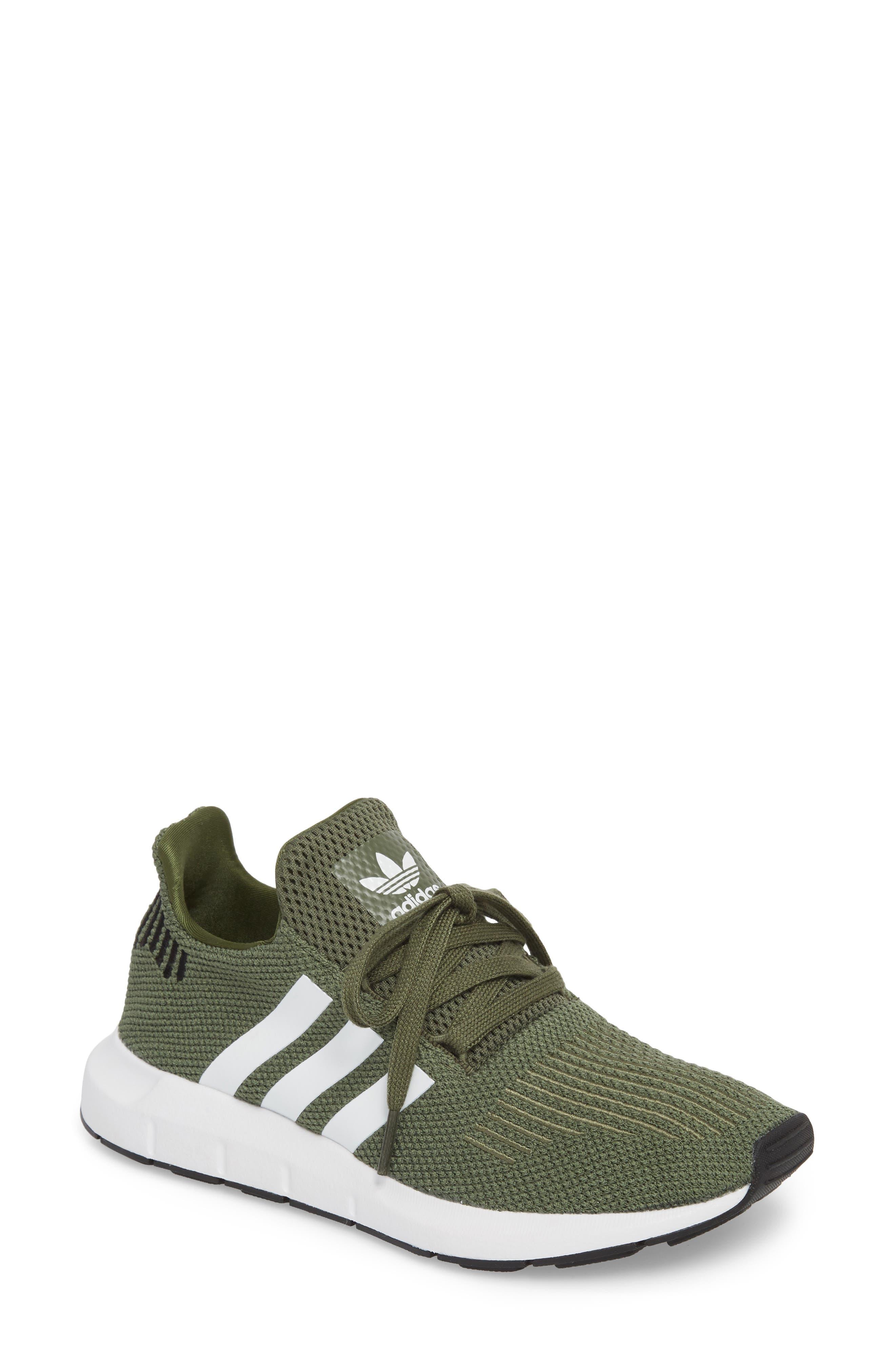 Swift Run Sneaker,                         Main,                         color, Base Green/ White/ Black