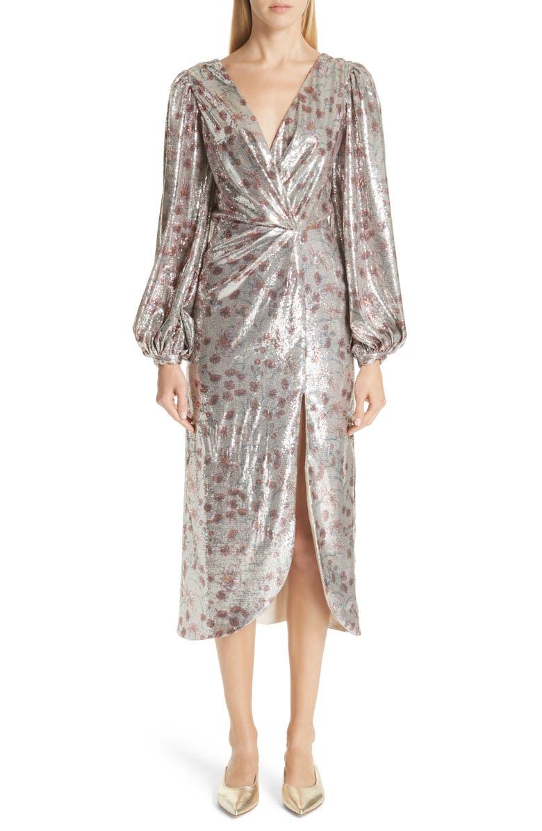 Alfonsina Sequin Dress