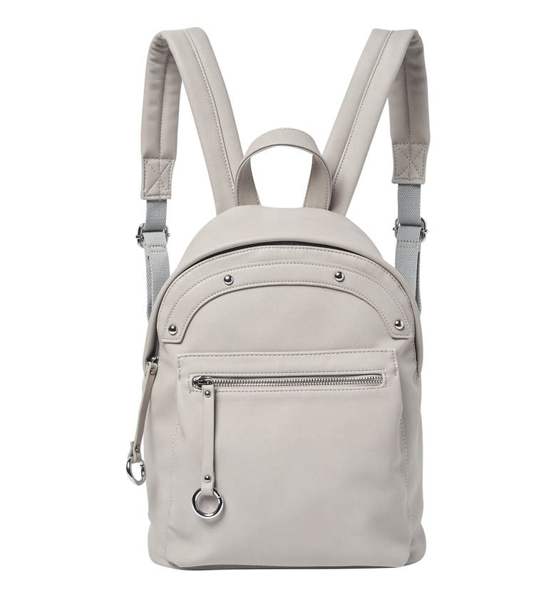 Urban Originals VEGAN LEATHER SUNNY DAY BACKPACK - GREY