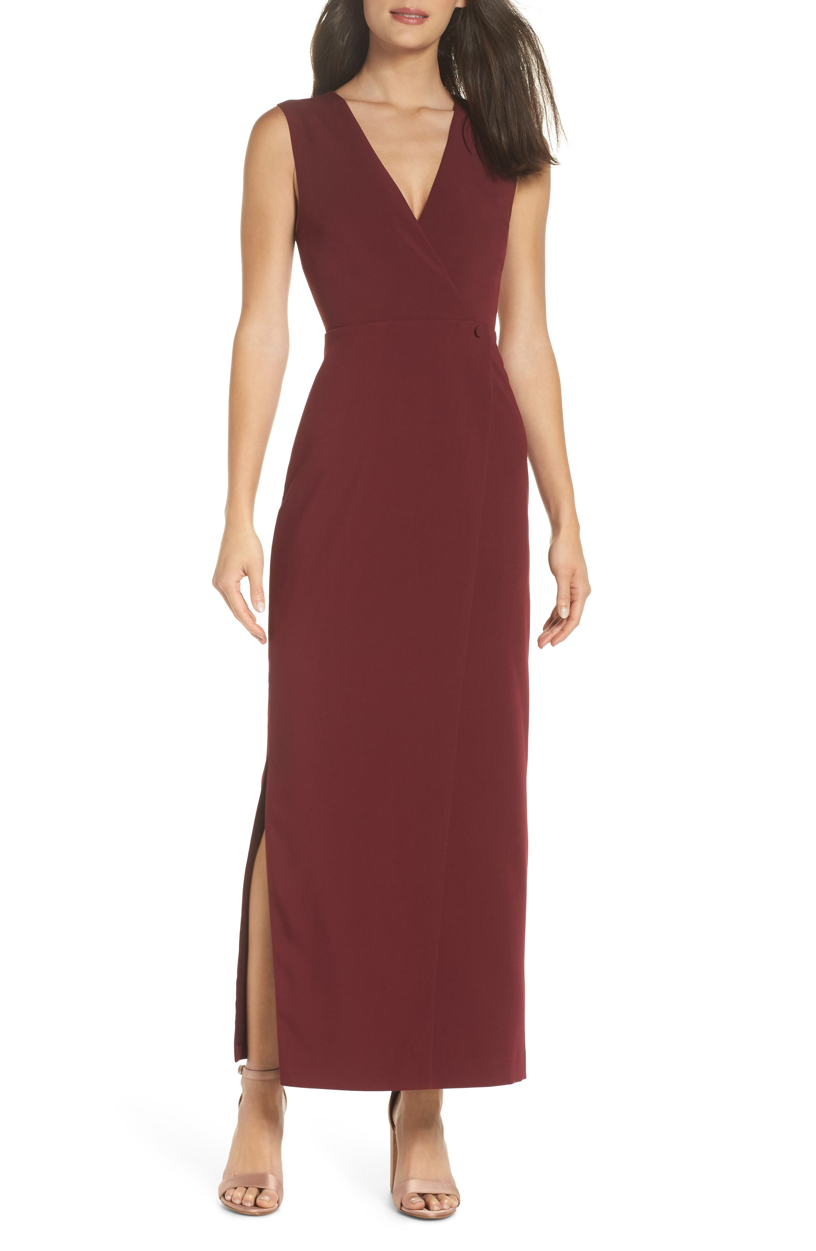 FAME AND PARTNERS ELENA COLUMN GOWN