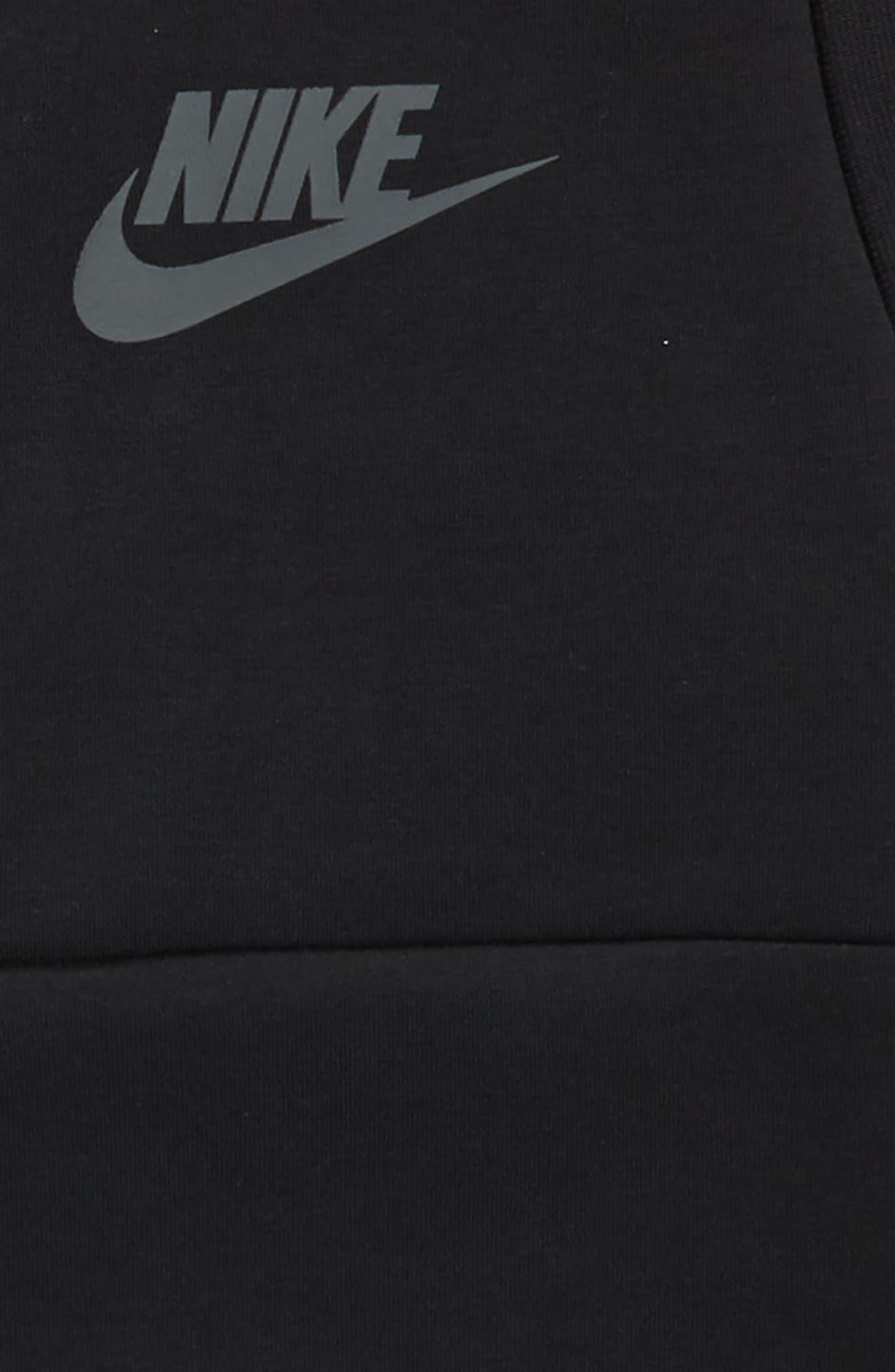 Sportswear Tech Fleece Hooded Vest,                             Alternate thumbnail 2, color,                             Black/ Anthracite