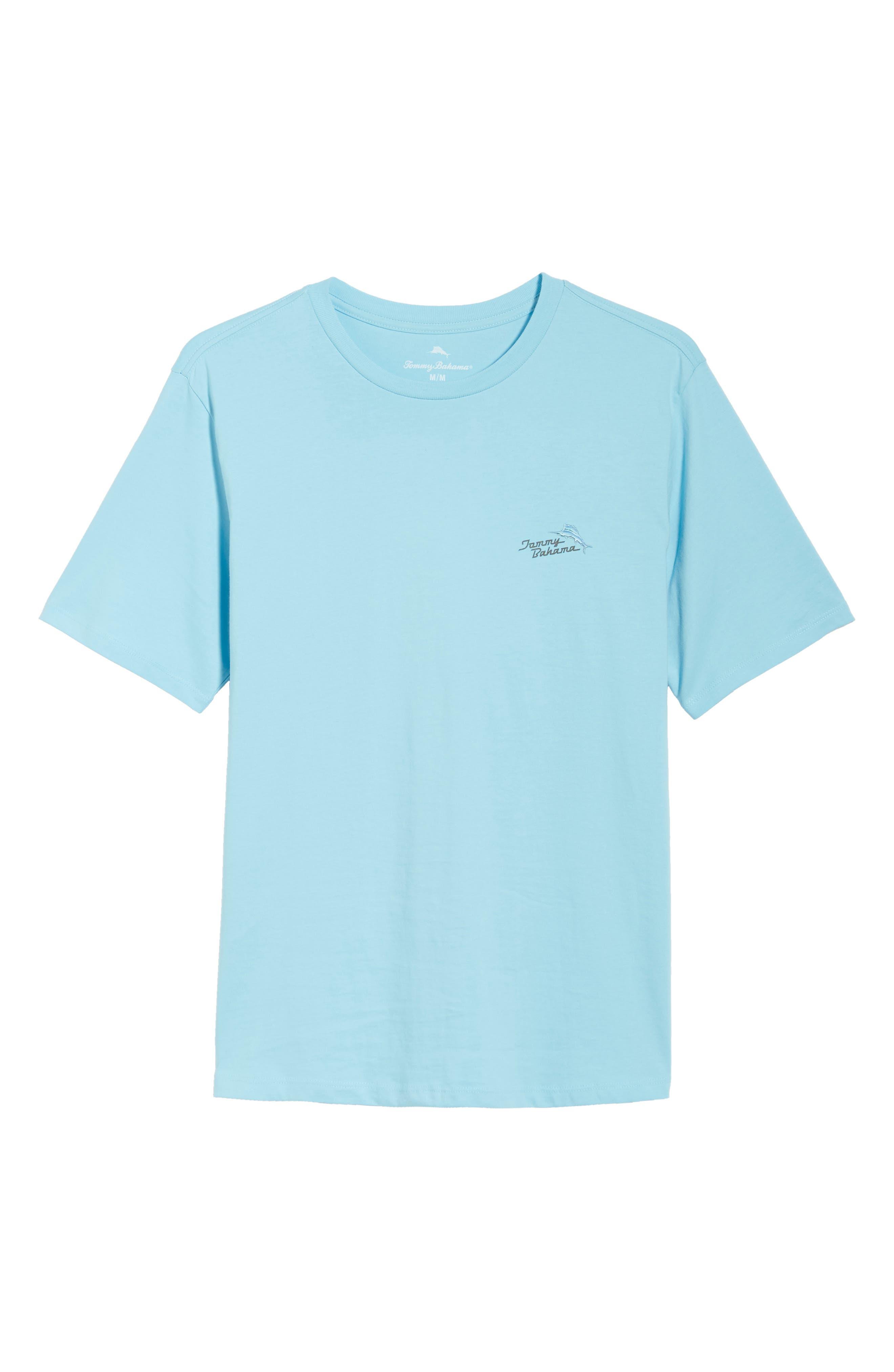 Beach Grille T-Shirt,                             Alternate thumbnail 6, color,                             Bowtie Blue