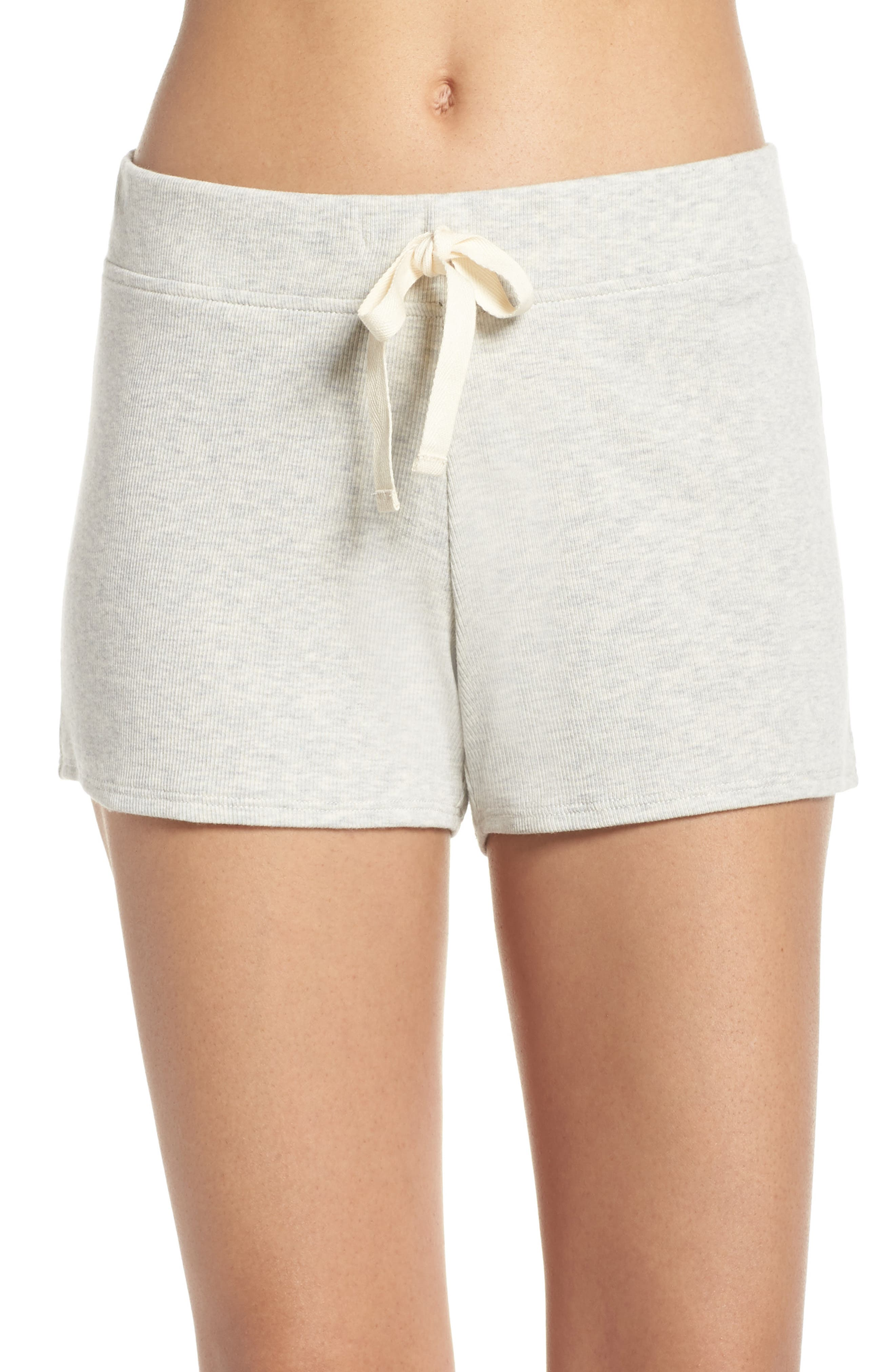 Daydream Lounge Shorts,                             Main thumbnail 1, color,                             Grey Heather